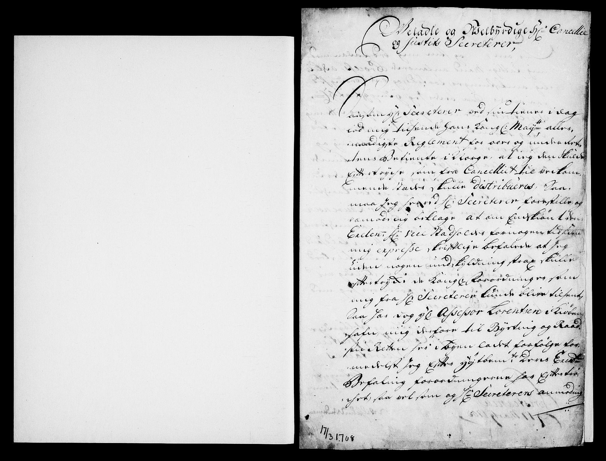 RA, Danske Kanselli, Skapsaker, G/L0019: Tillegg til skapsakene, 1616-1753, p. 351
