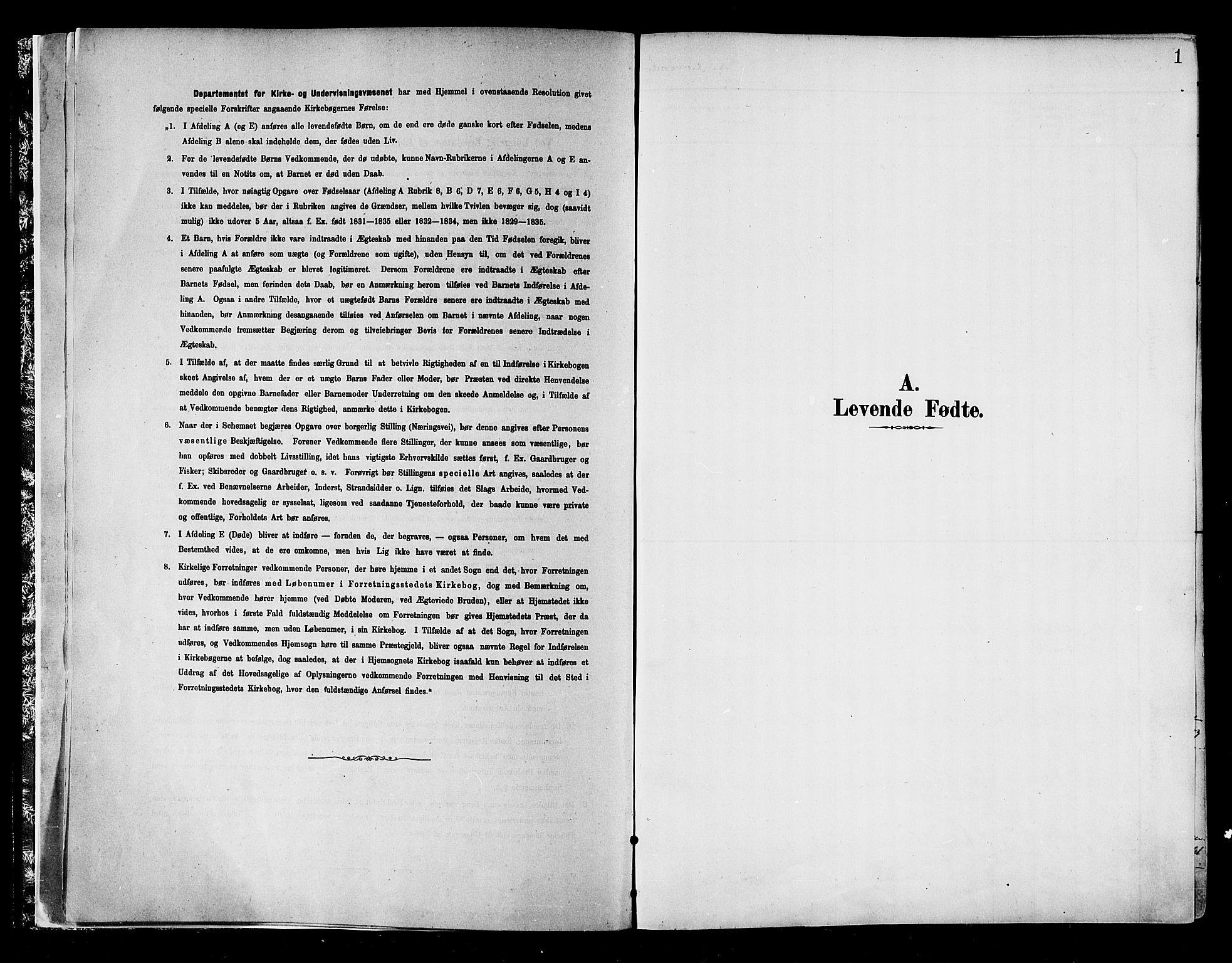 SATØ, Skjervøy sokneprestkontor, H/Ha/Haa/L0010kirke: Parish register (official) no. 10, 1887-1898, p. 1