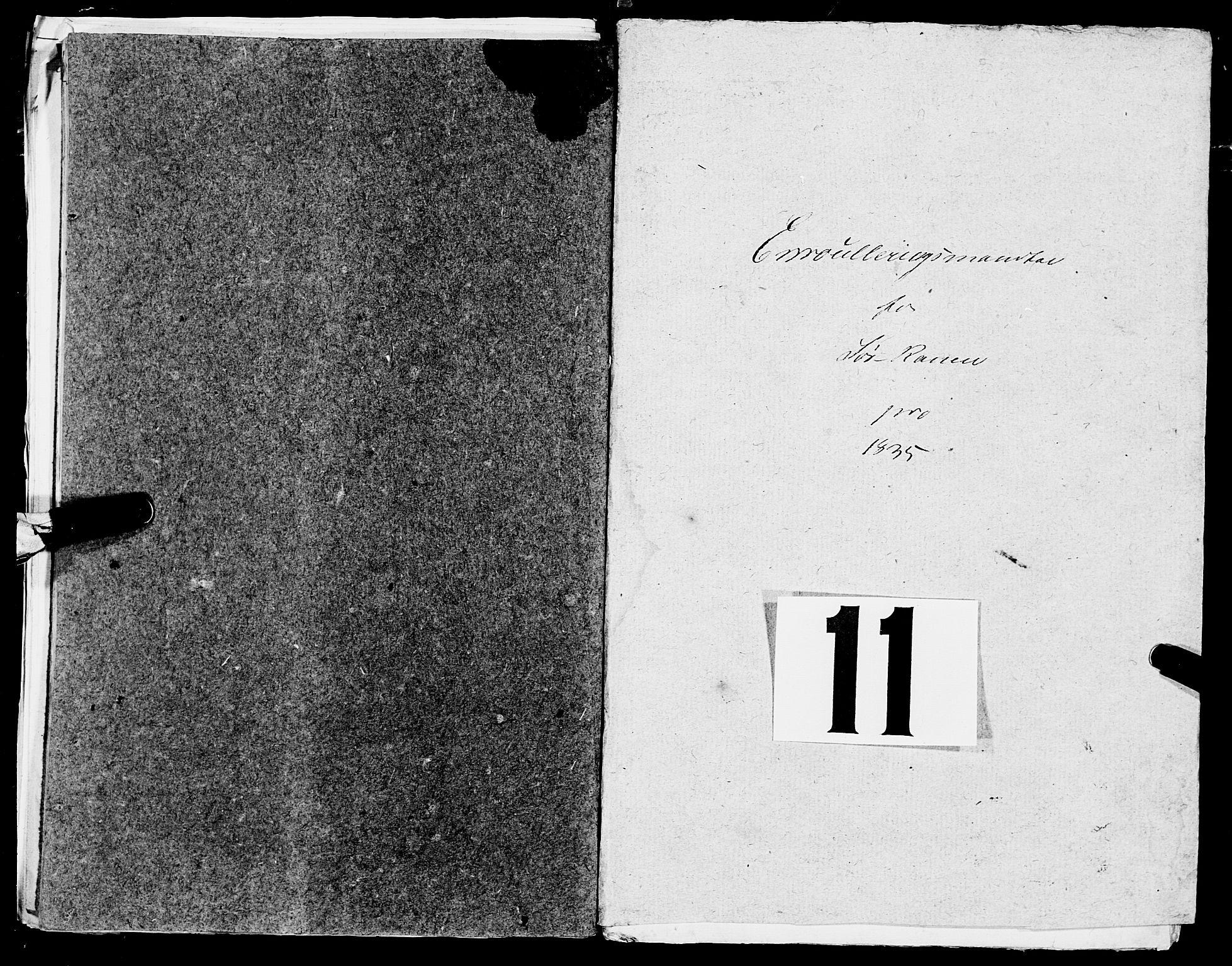 SAT, Fylkesmannen i Nordland, R/RA/L0013: Innrulleringsmanntall for Hemnes (Sør-Rana), 1809-1835, p. 251