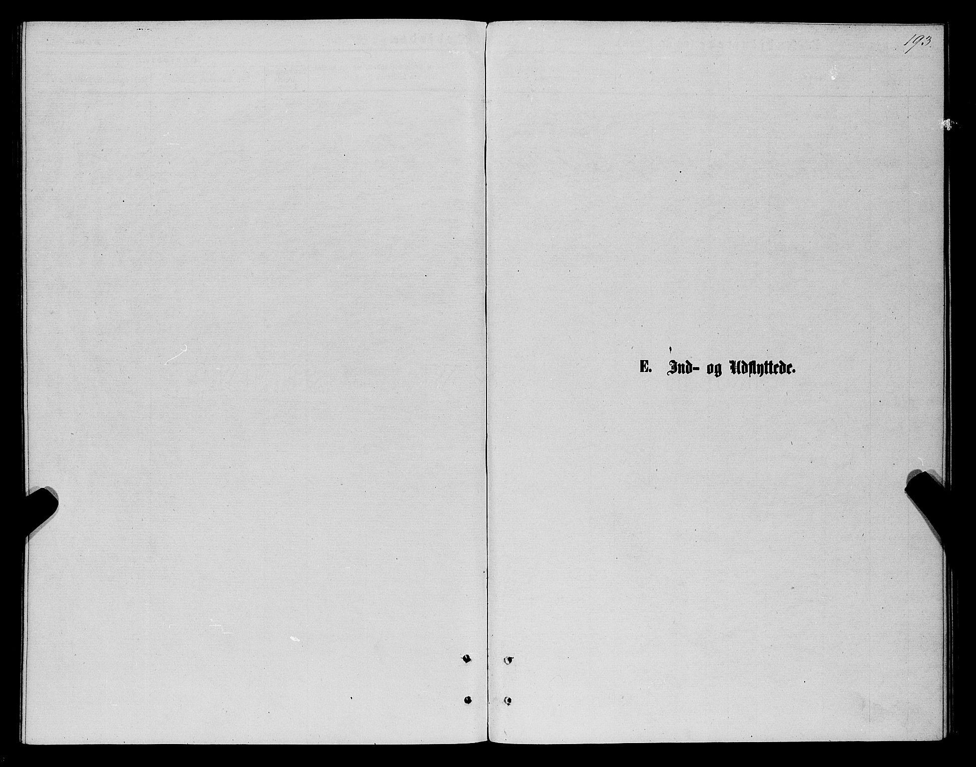 SATØ, Karlsøy sokneprestembete, Parish register (official) no. 5, 1872-1878, p. 193