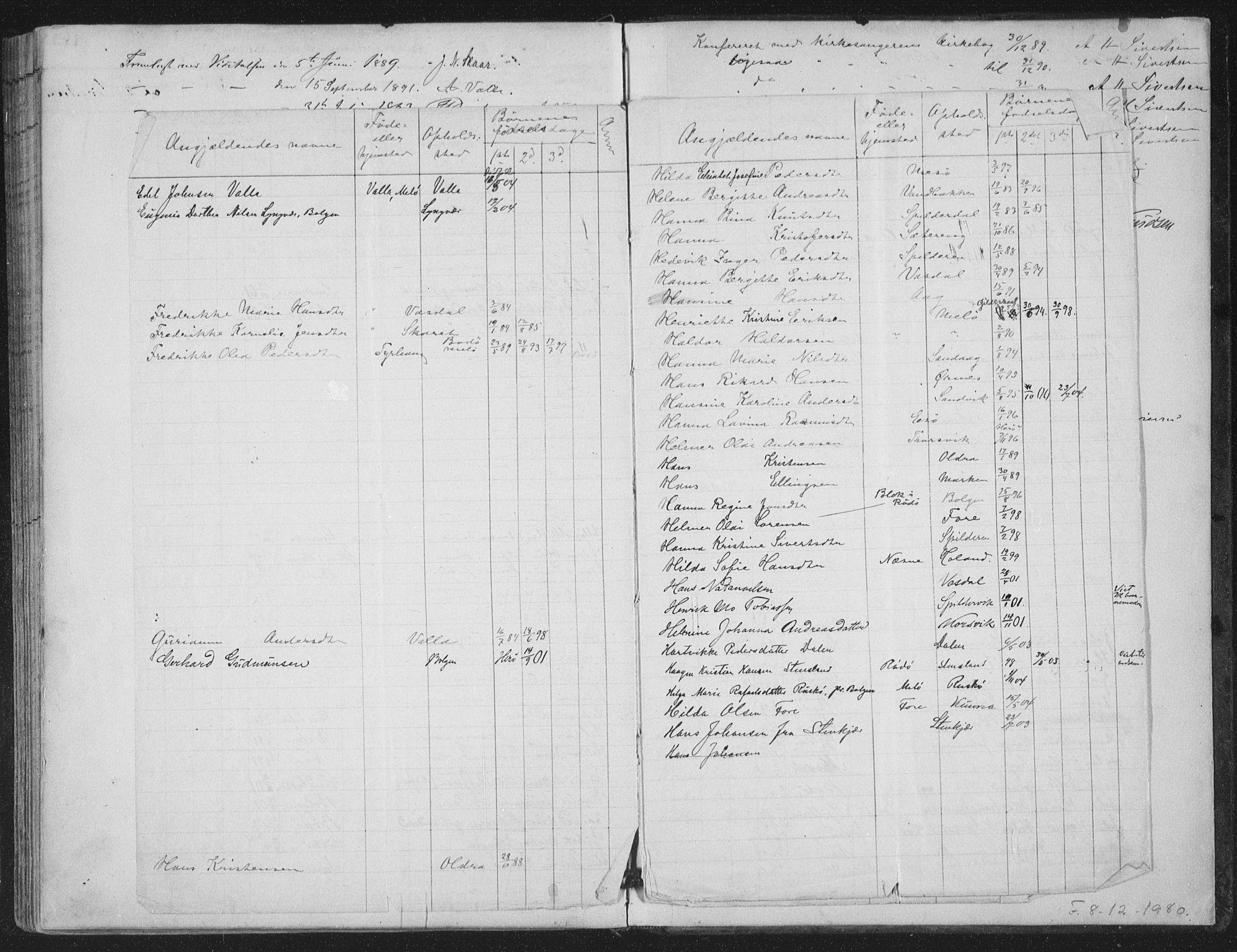 SAT, Ministerialprotokoller, klokkerbøker og fødselsregistre - Nordland, 843/L0628: Parish register (official) no. 843A03, 1889-1907