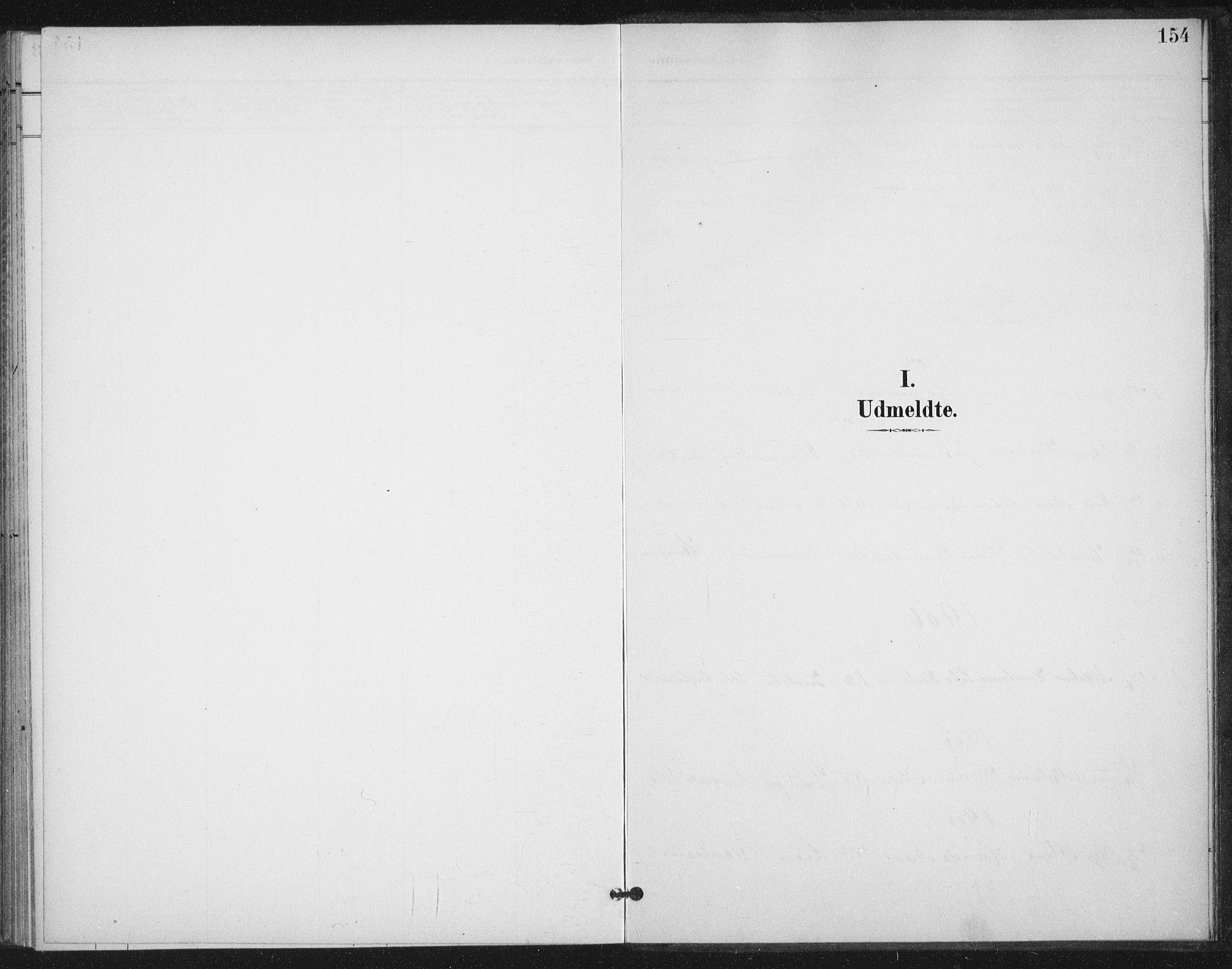 SAT, Ministerialprotokoller, klokkerbøker og fødselsregistre - Nordland, 894/L1356: Parish register (official) no. 894A02, 1897-1914, p. 154