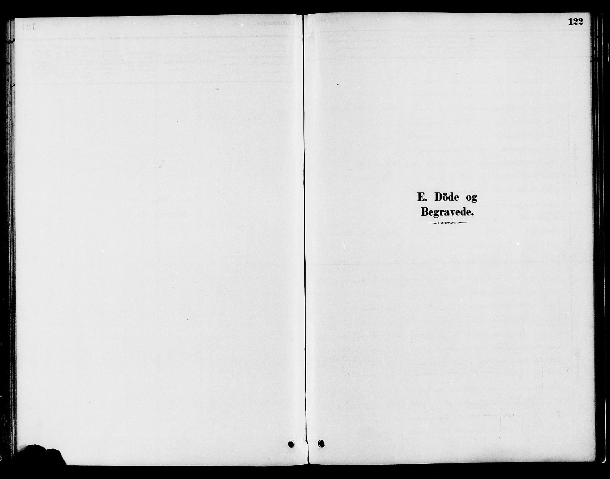 SAH, Gran prestekontor, Parish register (official) no. 16, 1880-1888, p. 122