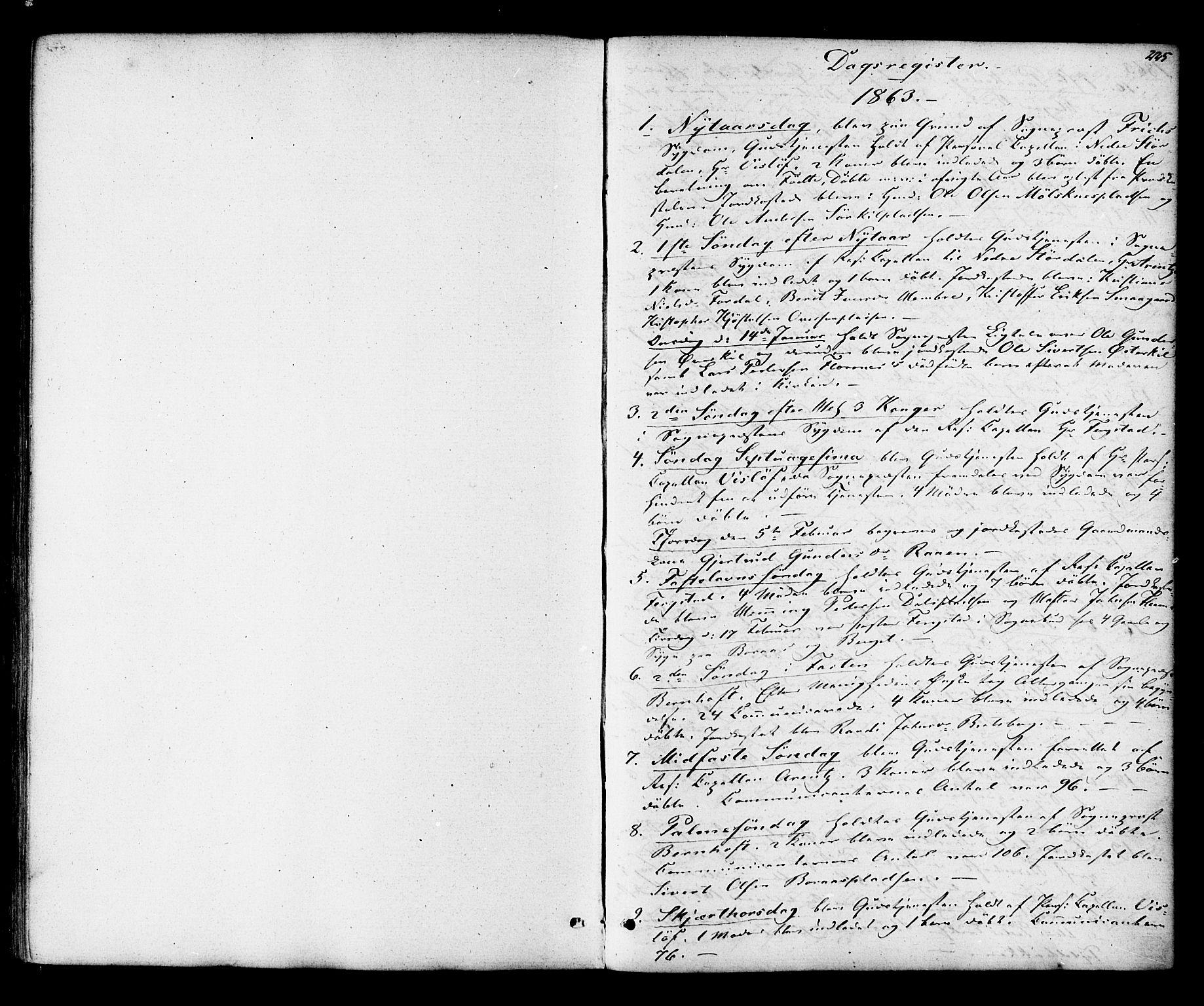 SAT, Ministerialprotokoller, klokkerbøker og fødselsregistre - Nord-Trøndelag, 703/L0029: Parish register (official) no. 703A02, 1863-1879, p. 225