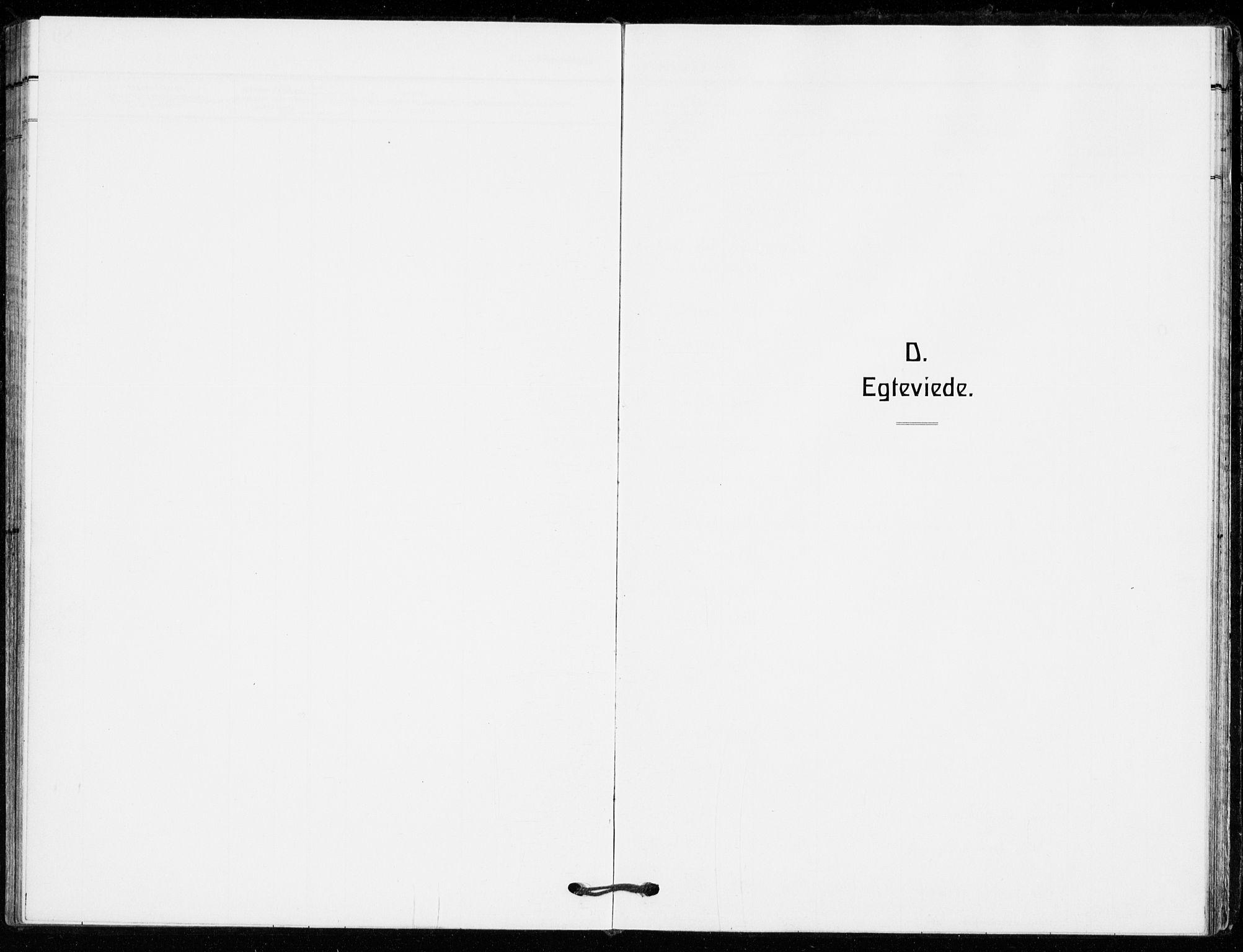SAKO, Bø kirkebøker, F/Fa/L0013: Parish register (official) no. 13, 1909-1921