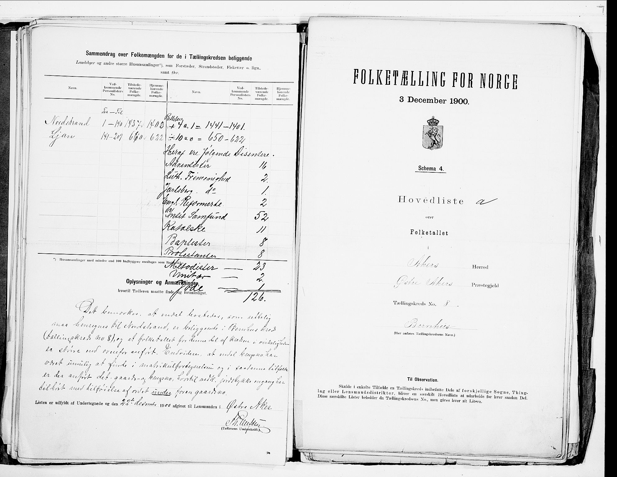 SAO, 1900 census for Aker, 1900, p. 31
