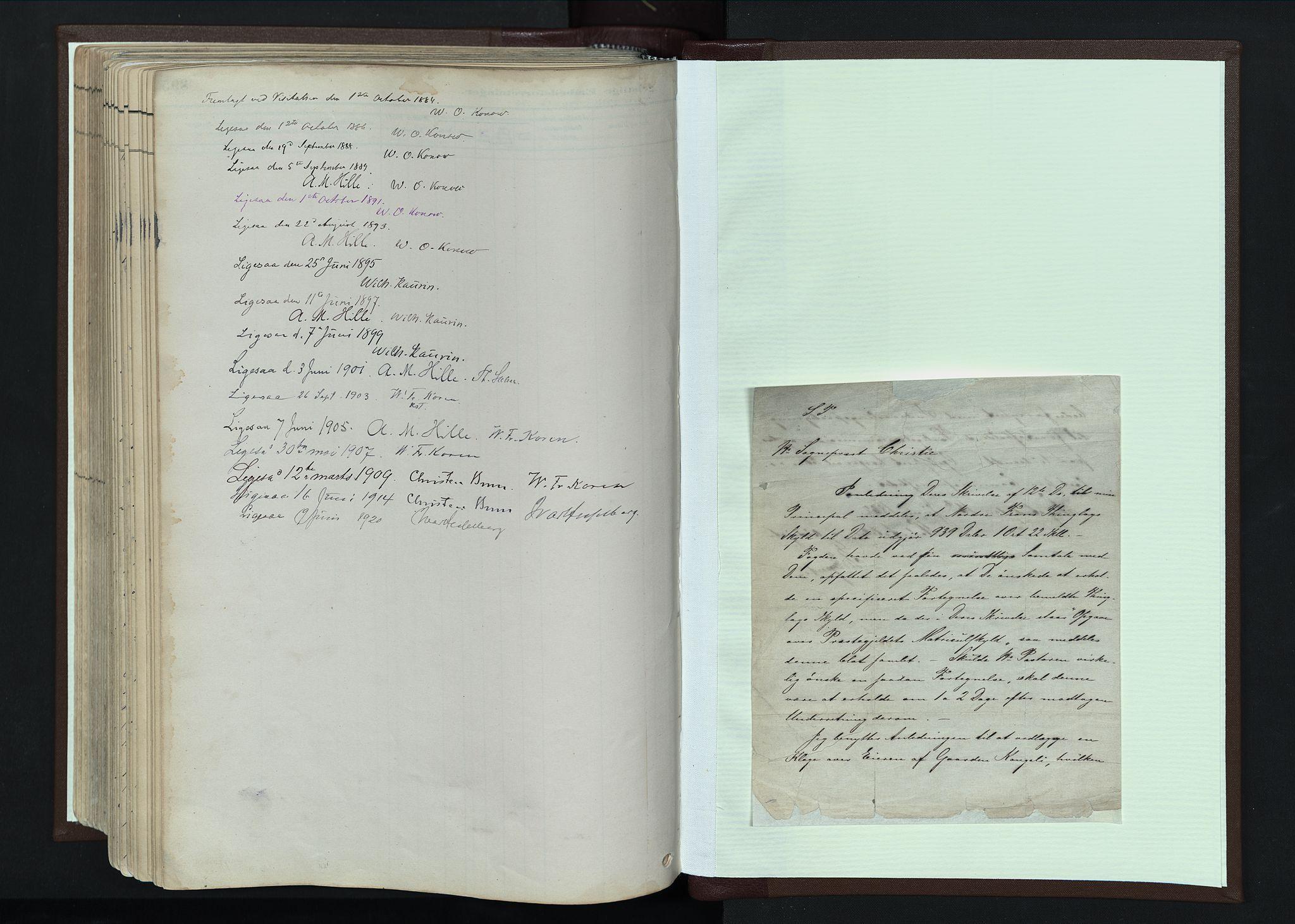 SAH, Nord-Fron prestekontor, Parish register (official) no. 4, 1884-1914