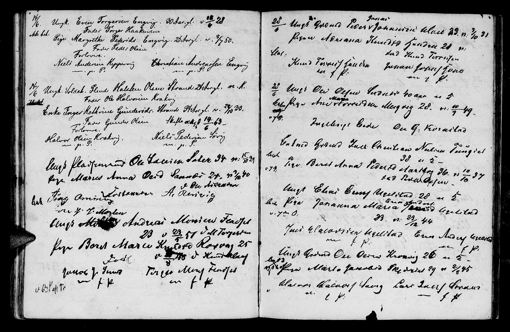 SAT, Ministerialprotokoller, klokkerbøker og fødselsregistre - Møre og Romsdal, 568/L0796: Parish register (official) no. 568A05, 1845-1871