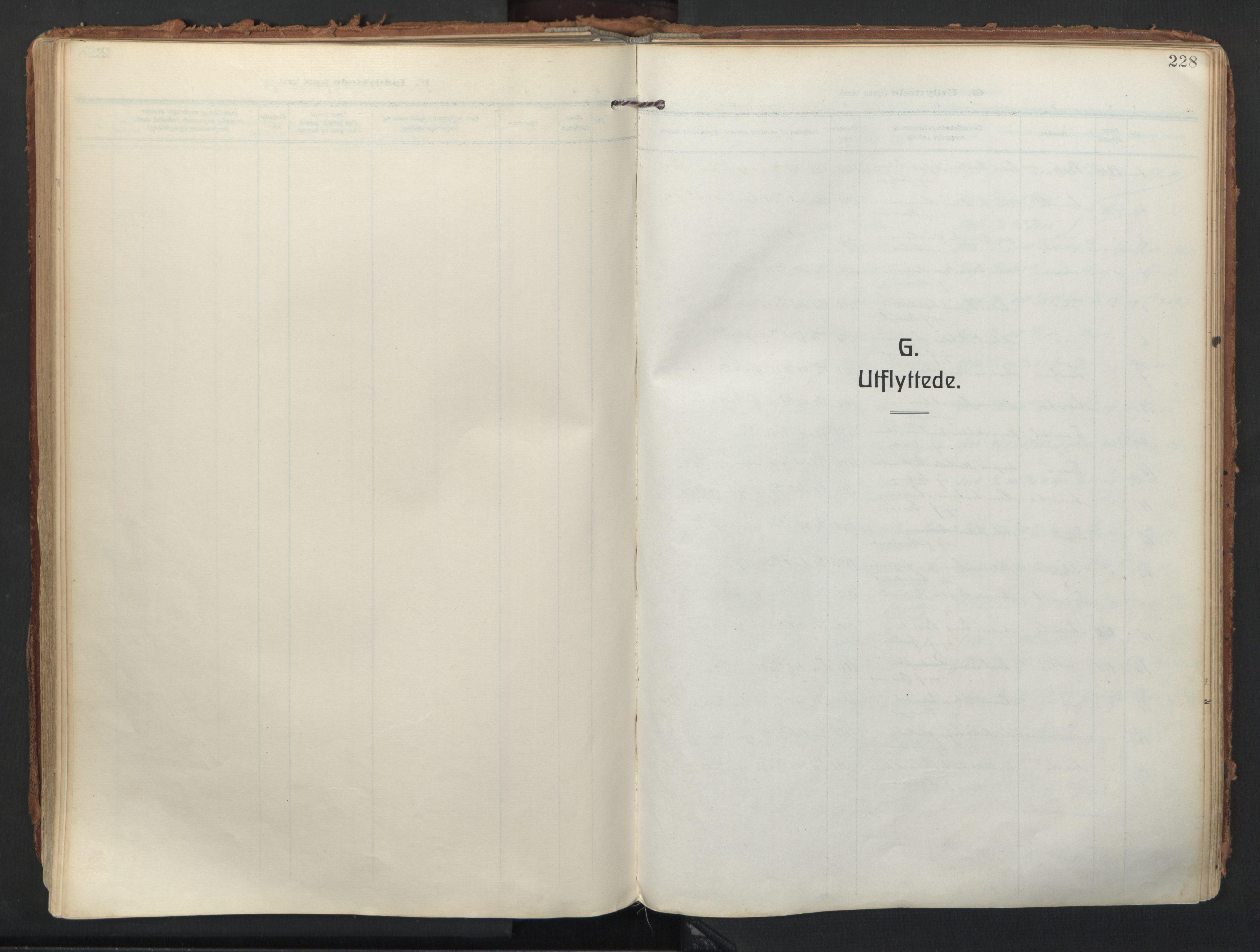 SATØ, Balsfjord sokneprestembete, Parish register (official) no. 9, 1909-1921, p. 228