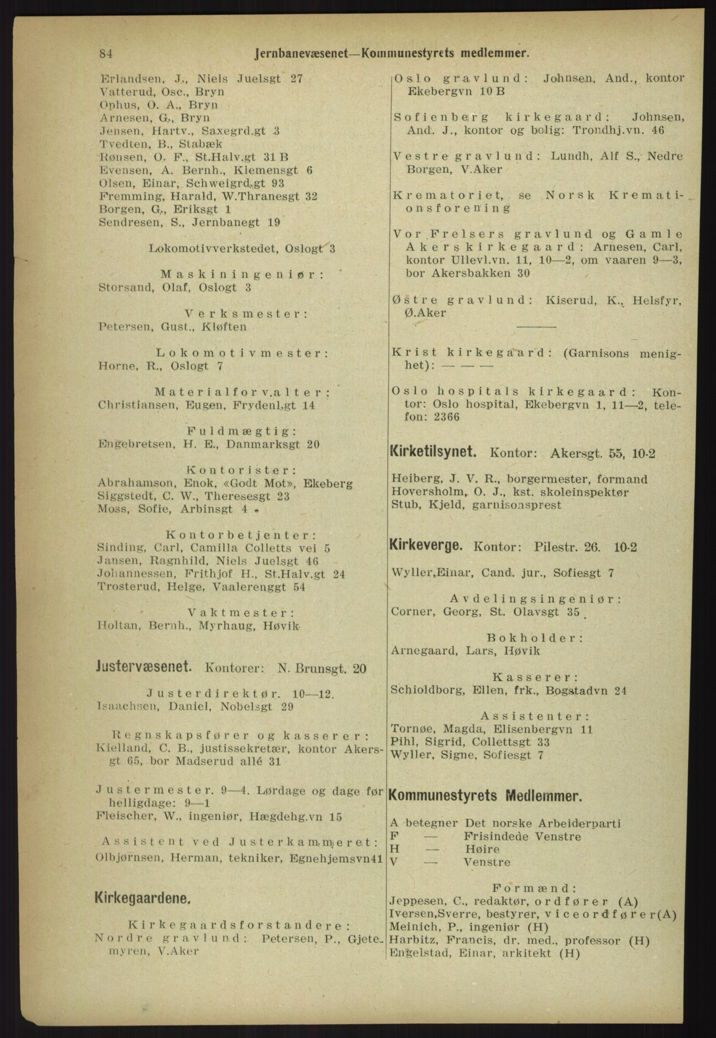PUBL, Kristiania/Oslo adressebok, 1918, p. 91