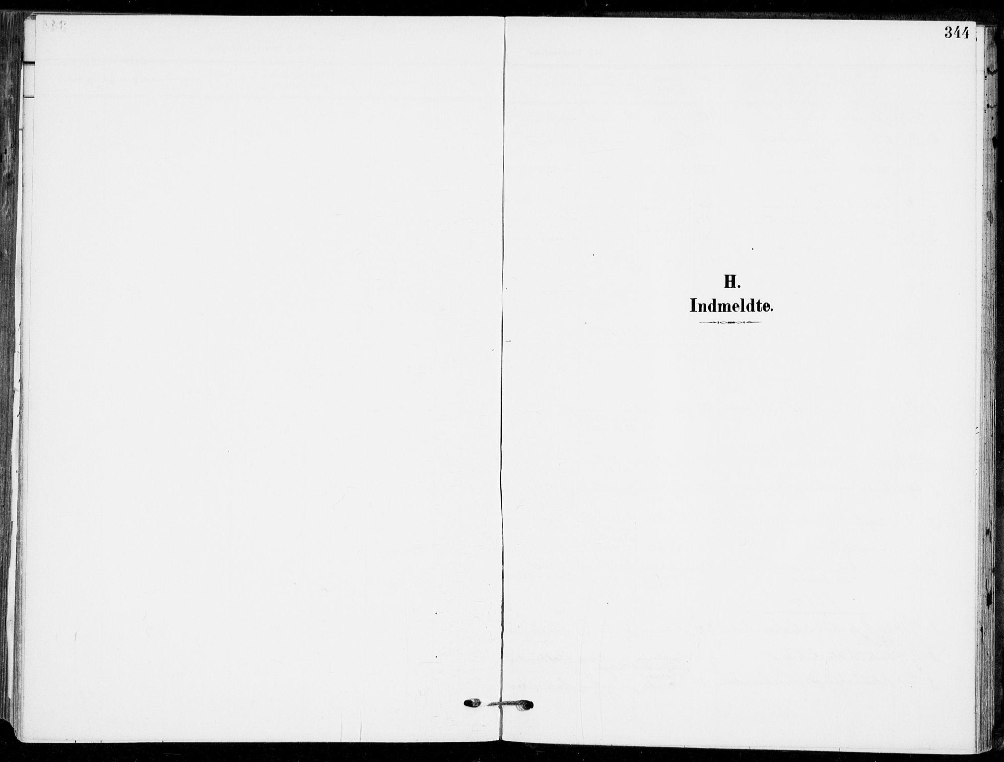 SAKO, Sande Kirkebøker, F/Fa/L0008: Parish register (official) no. 8, 1904-1921, p. 344