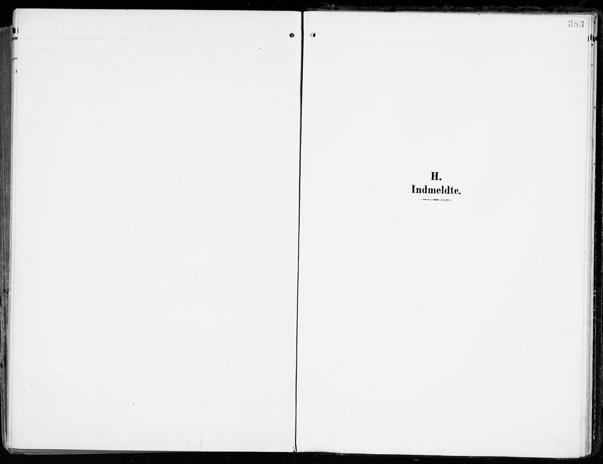 SAKO, Tjølling kirkebøker, F/Fa/L0010: Parish register (official) no. 10, 1906-1923, p. 383