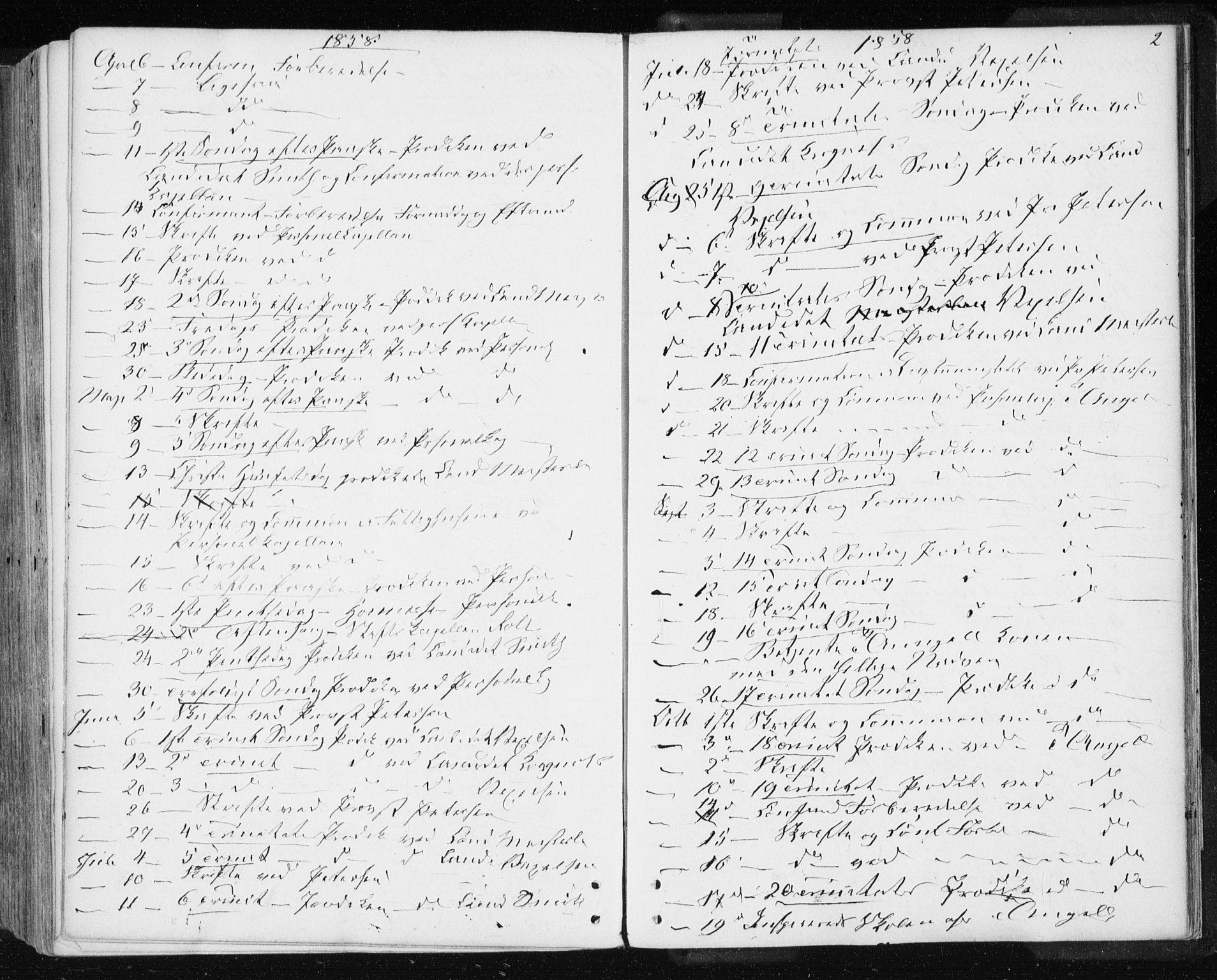 SAT, Ministerialprotokoller, klokkerbøker og fødselsregistre - Sør-Trøndelag, 601/L0053: Parish register (official) no. 601A21, 1857-1865, p. 2