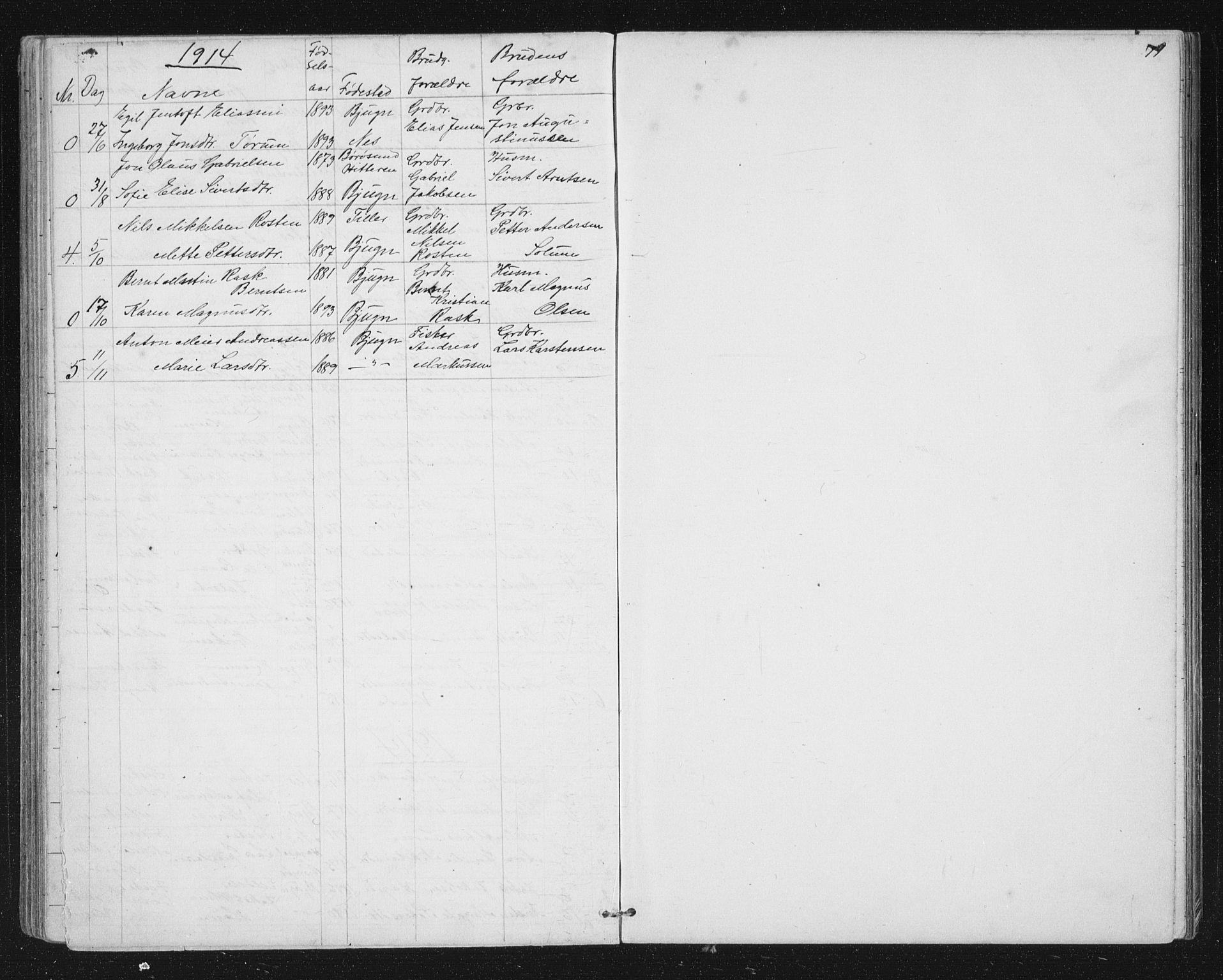 SAT, Ministerialprotokoller, klokkerbøker og fødselsregistre - Sør-Trøndelag, 651/L0647: Parish register (copy) no. 651C01, 1866-1914, p. 79
