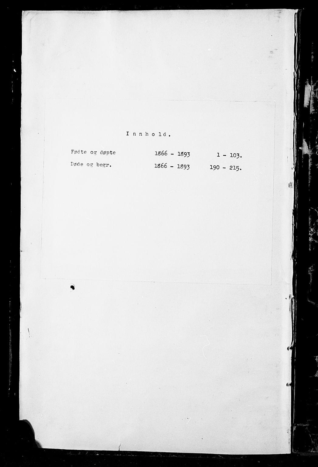 SAH, Sør-Aurdal prestekontor, Parish register (copy) no. 7, 1866-1893