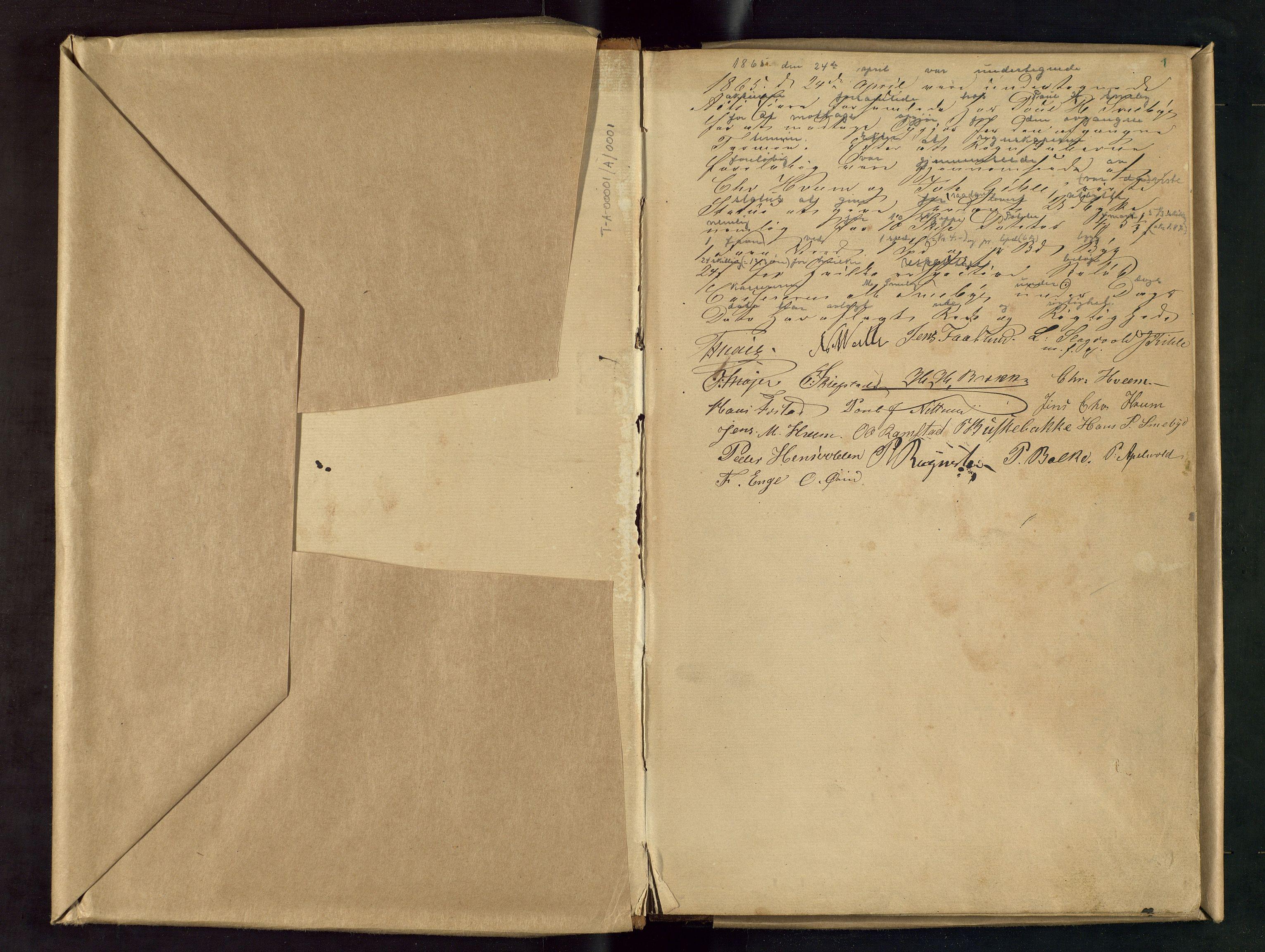 OAMM, Bilitt Brenneri, A, 1865-1902, p. 1