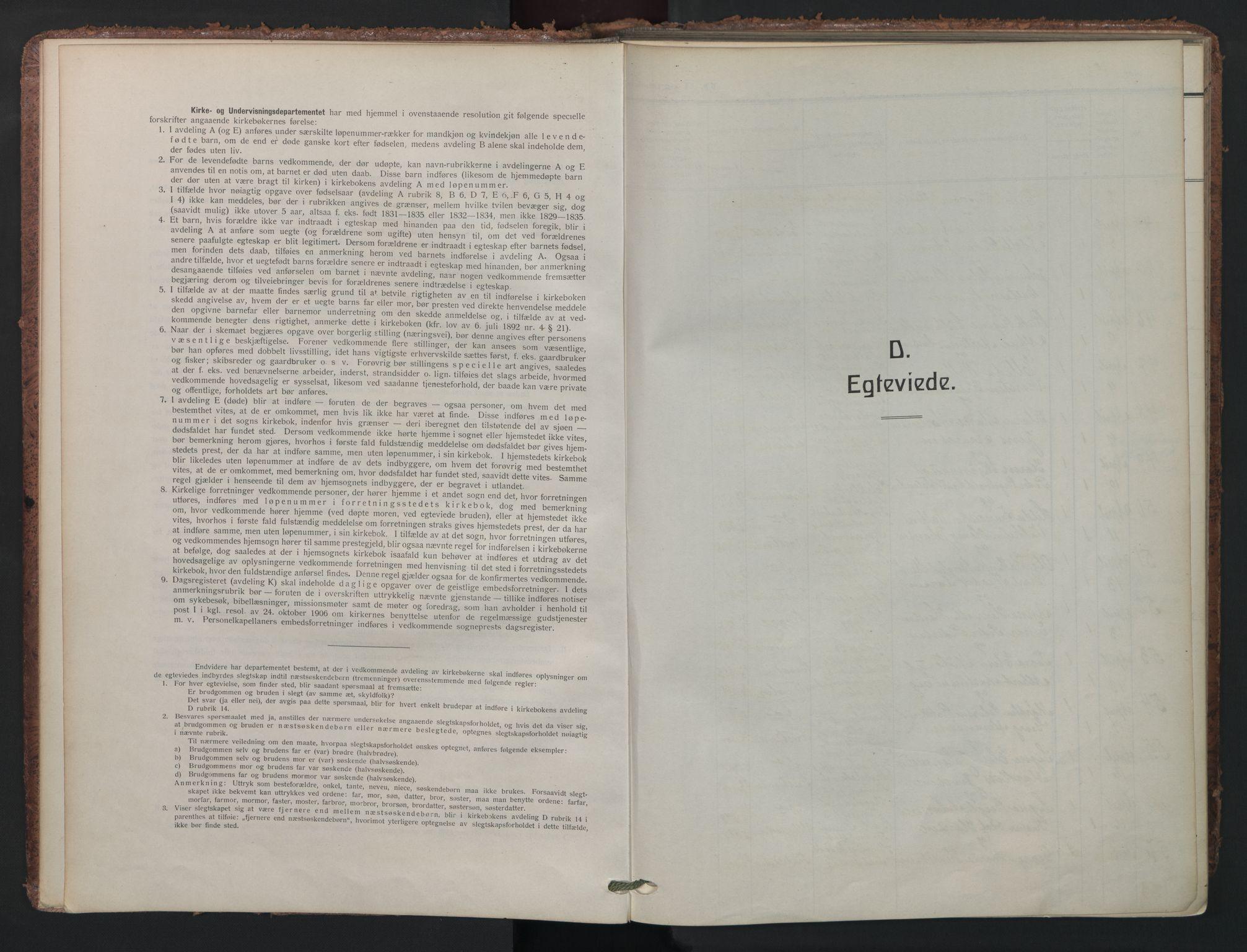 SAO, Petrus prestekontor Kirkebøker, F/Fa/L0013: Parish register (official) no. 13, 1911-1925
