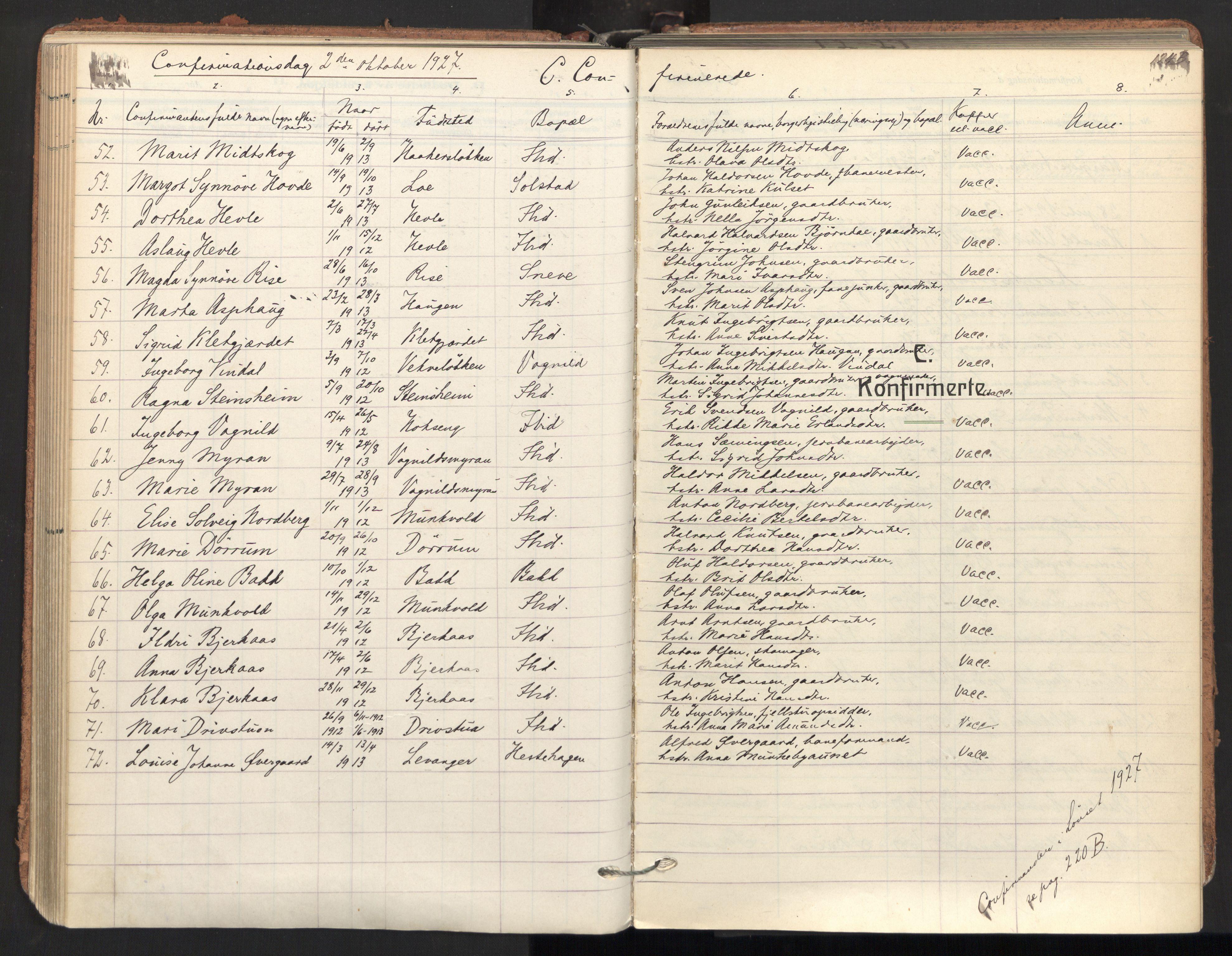 SAT, Ministerialprotokoller, klokkerbøker og fødselsregistre - Sør-Trøndelag, 678/L0909: Parish register (official) no. 678A17, 1912-1930