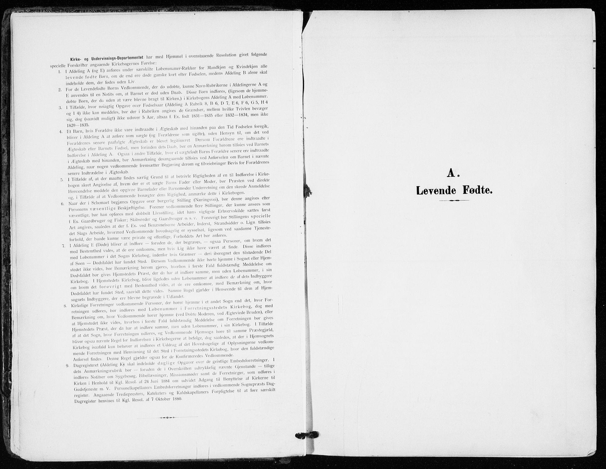 SAKO, Kongsberg kirkebøker, F/Fb/L0004: Parish register (official) no. II 4, 1906-1918