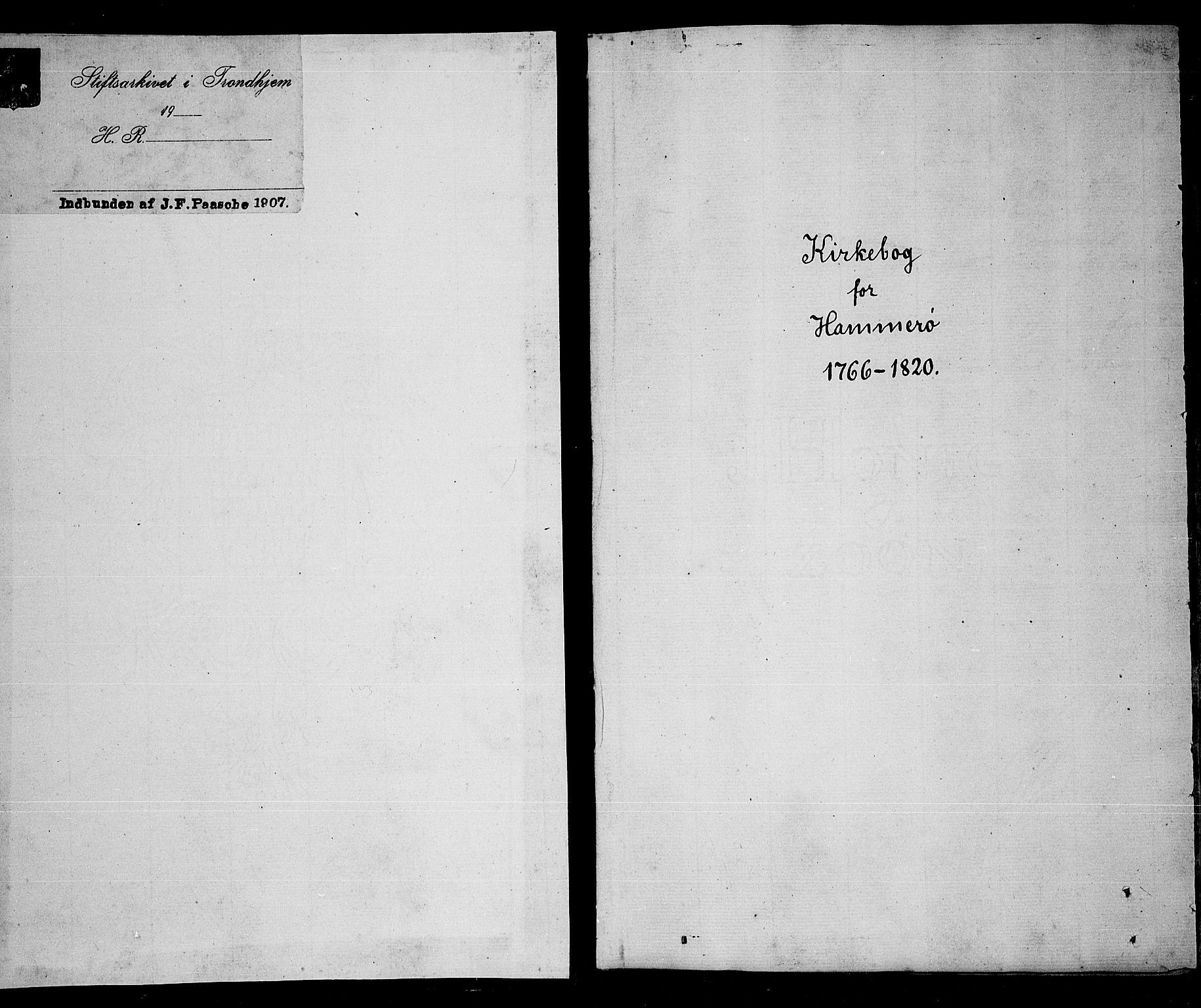 SAT, Ministerialprotokoller, klokkerbøker og fødselsregistre - Nordland, 859/L0841: Parish register (official) no. 859A01, 1766-1821