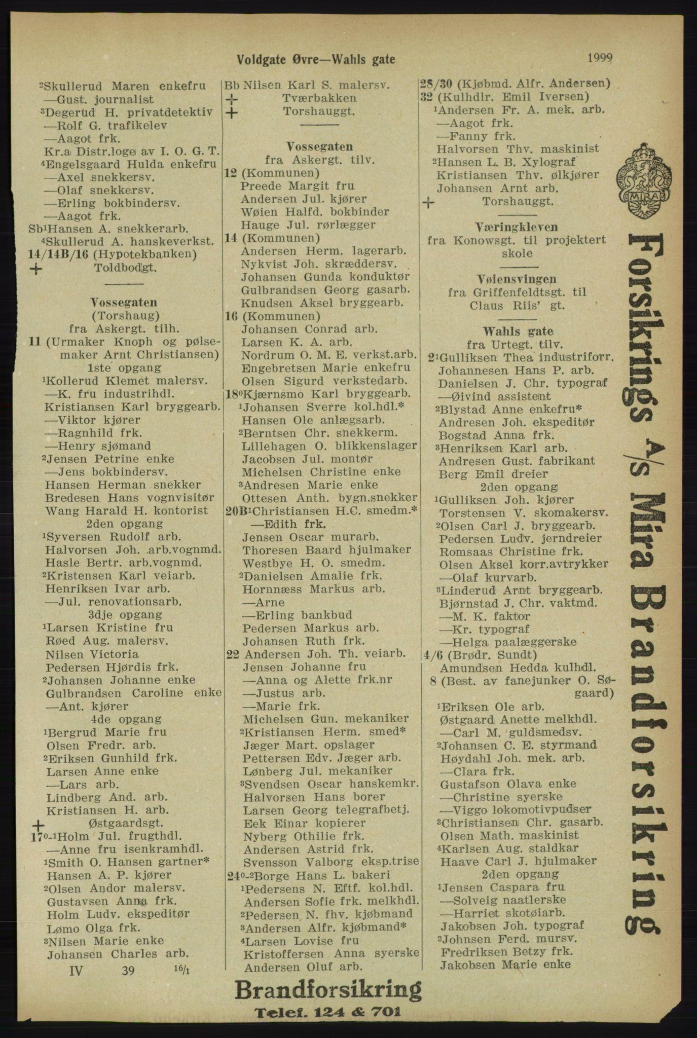PUBL, Kristiania/Oslo adressebok, 1918, p. 2152