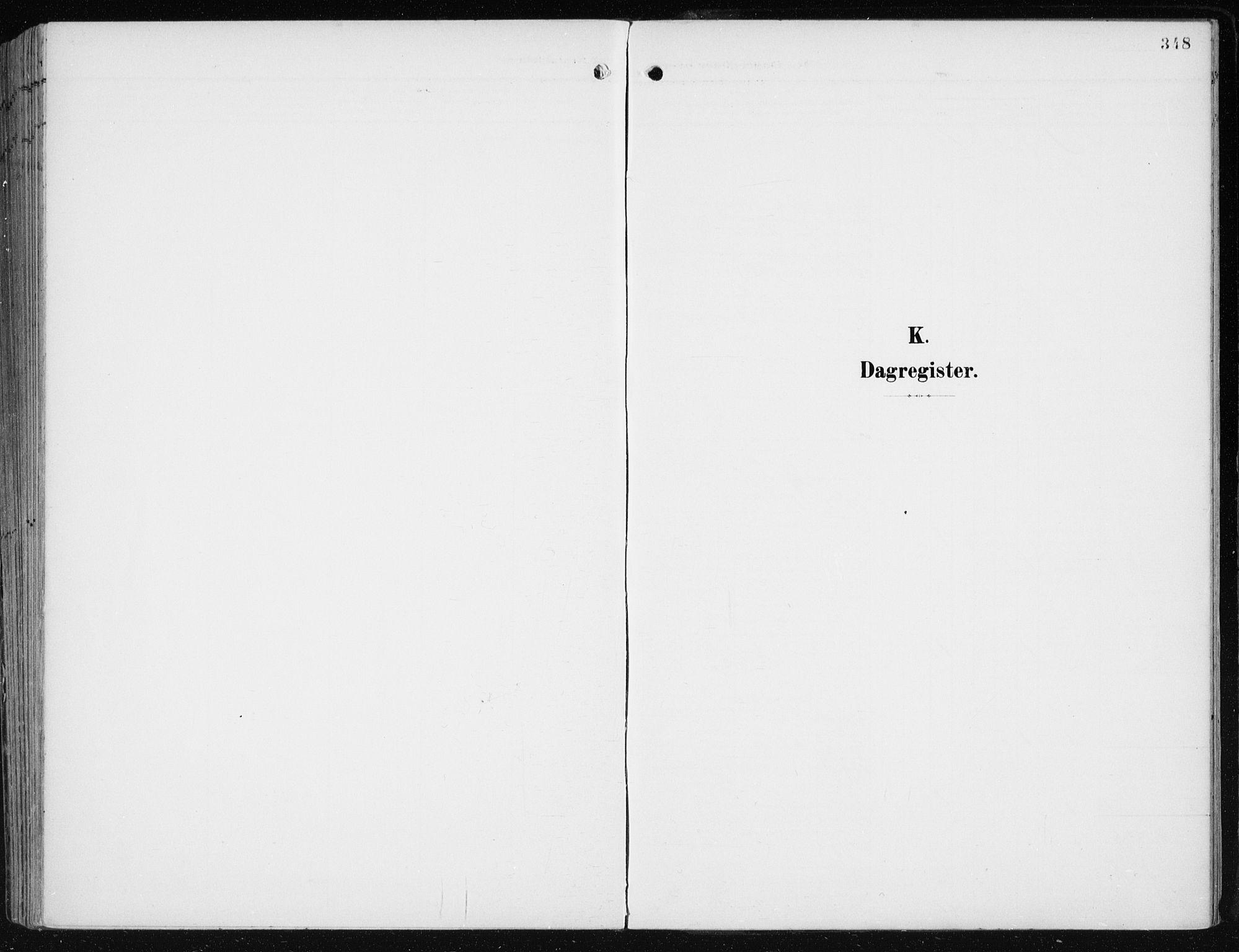 SAB, Evanger sokneprestembete*, Parish register (official) no. A  3, 1900-1930, p. 348