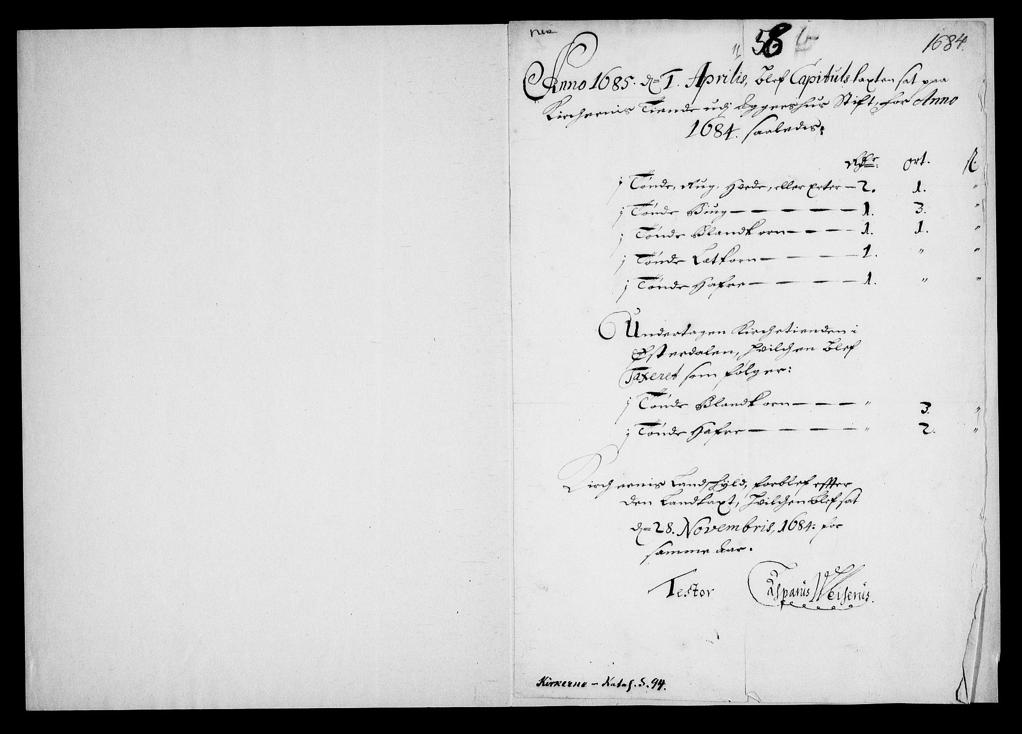 RA, Danske Kanselli, Skapsaker, G/L0019: Tillegg til skapsakene, 1616-1753, p. 241