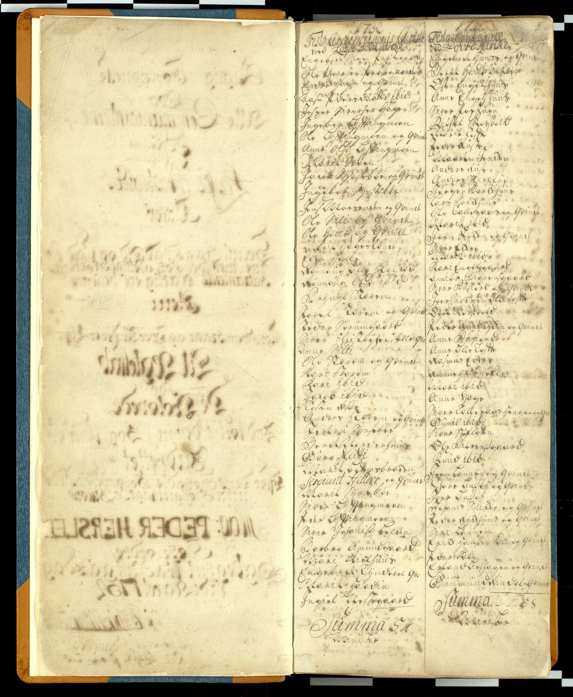 SAH, Lesja prestekontor, H/Hb/L0001: Communicants register no. 1, 1732-1748, p. 1