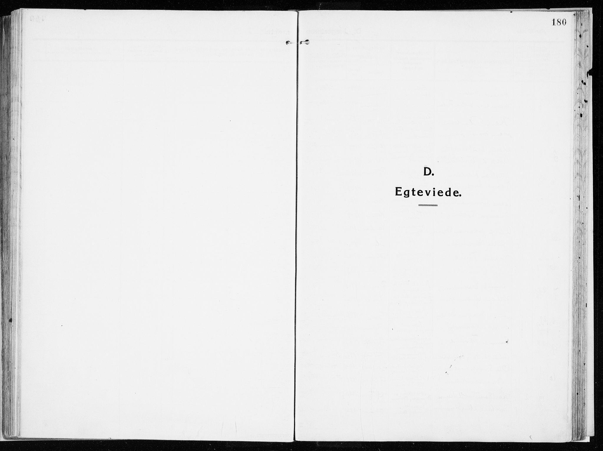 SAH, Vardal prestekontor, H/Ha/Haa/L0017: Parish register (official) no. 17, 1915-1929, p. 180