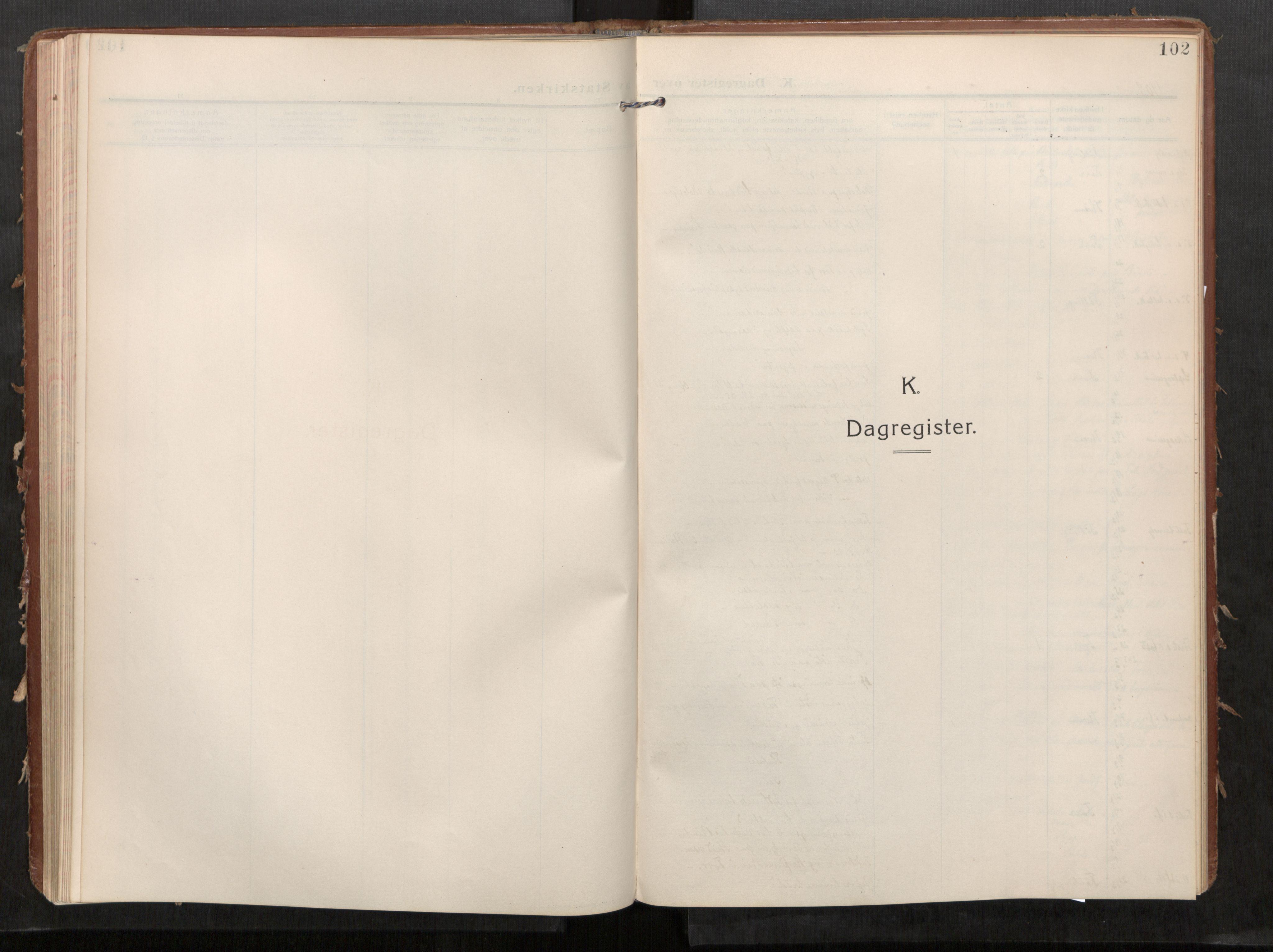SAT, Stod sokneprestkontor, I/I1/I1a/L0002: Parish register (official) no. 2, 1909-1922, p. 102
