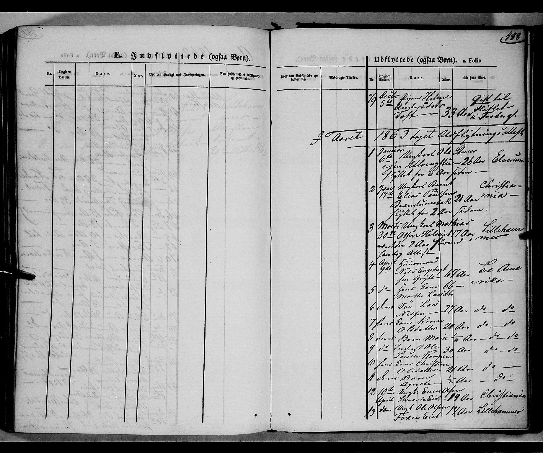 SAH, Gausdal prestekontor, Parish register (official) no. 9, 1862-1873, p. 488