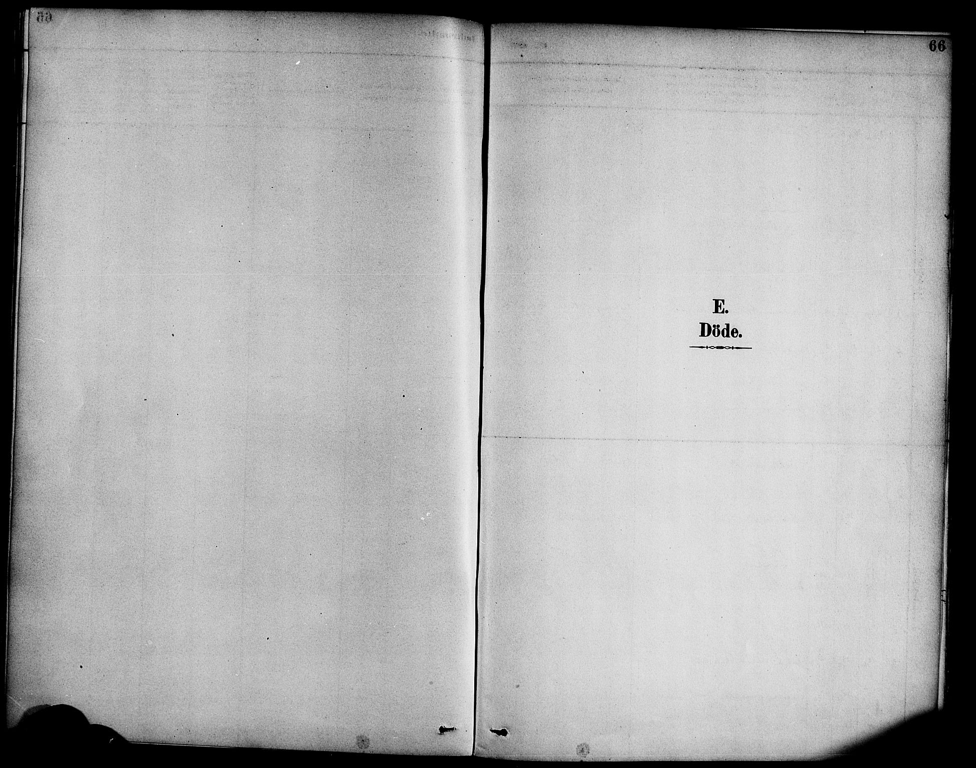SAB, Hyllestad Sokneprestembete, Parish register (official) no. C 1, 1886-1904, p. 66
