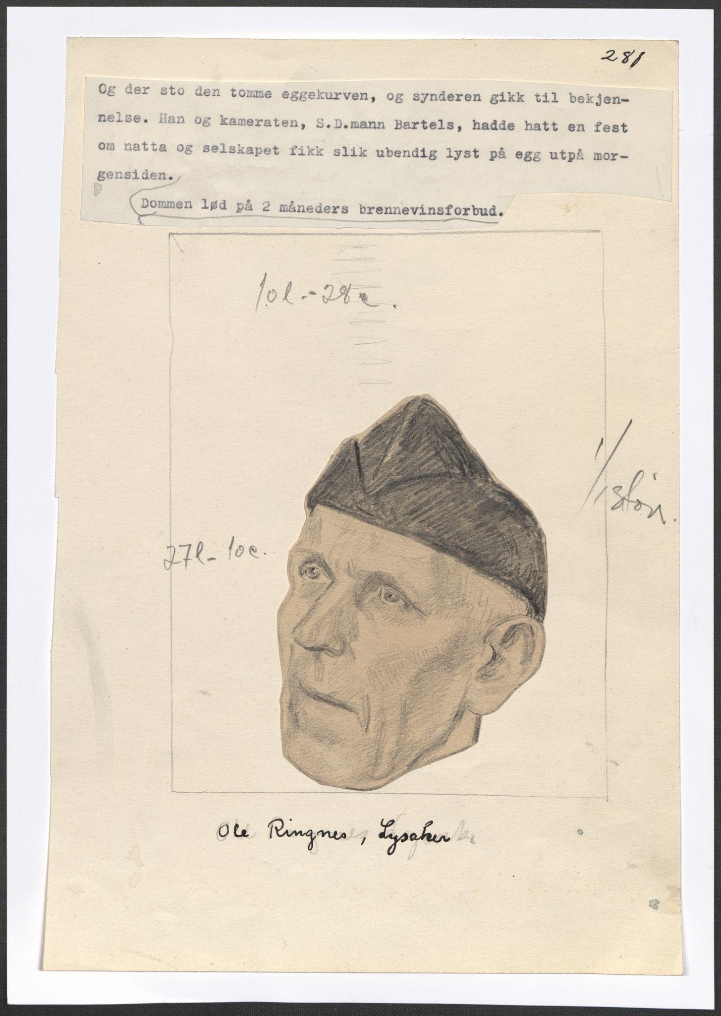 RA, Grøgaard, Joachim, F/L0002: Tegninger og tekster, 1942-1945, p. 112