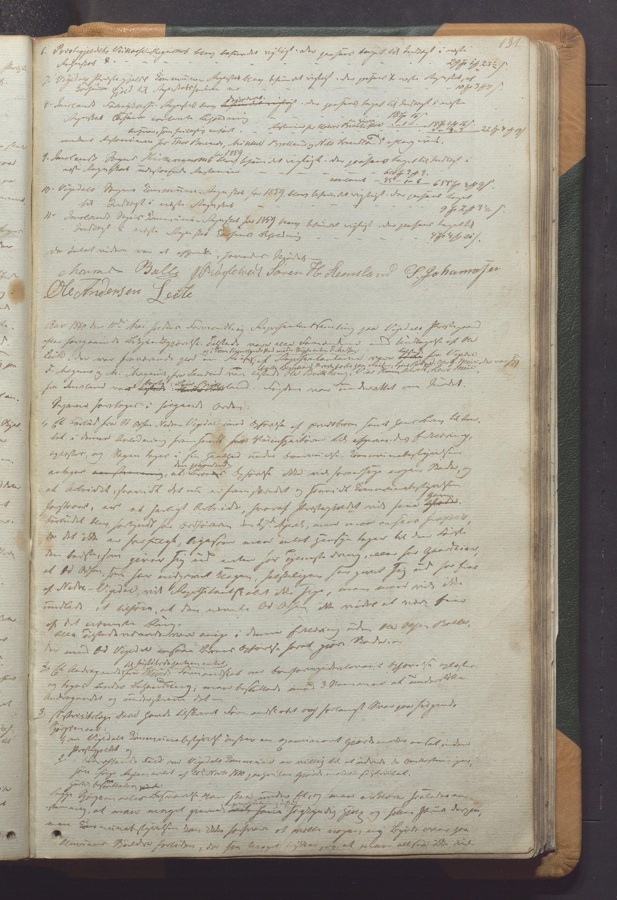 IKAR, Vikedal kommune - Formannskapet, Aaa/L0001: Møtebok, 1837-1874, p. 131a