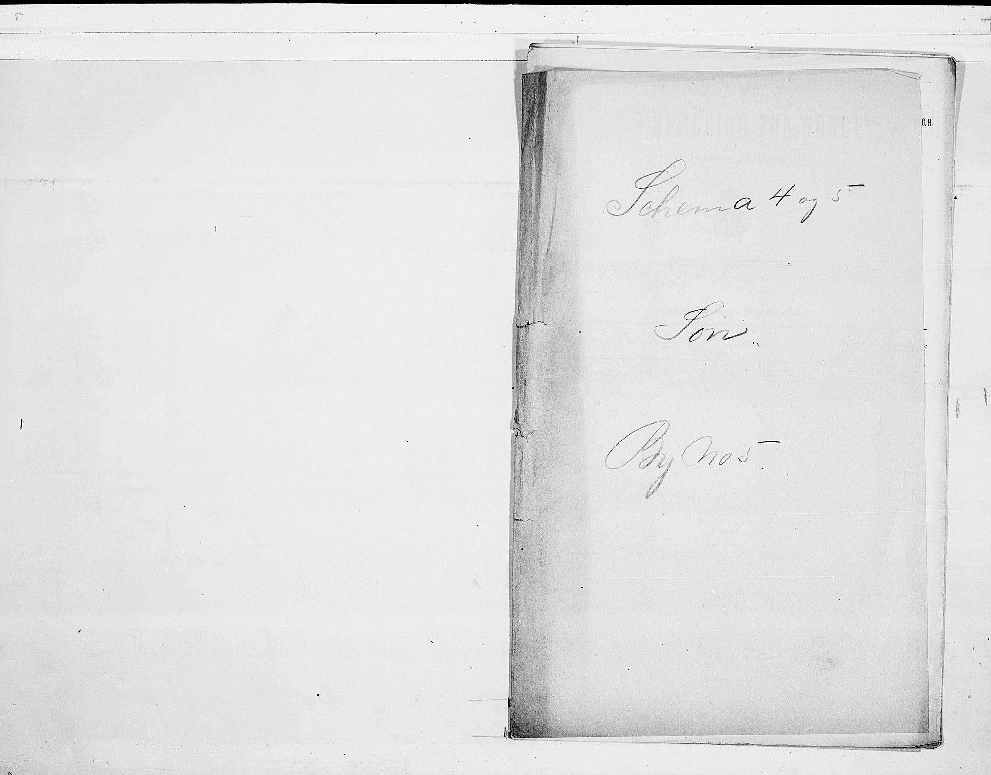 SAO, 1900 census for Son, 1900, p. 1