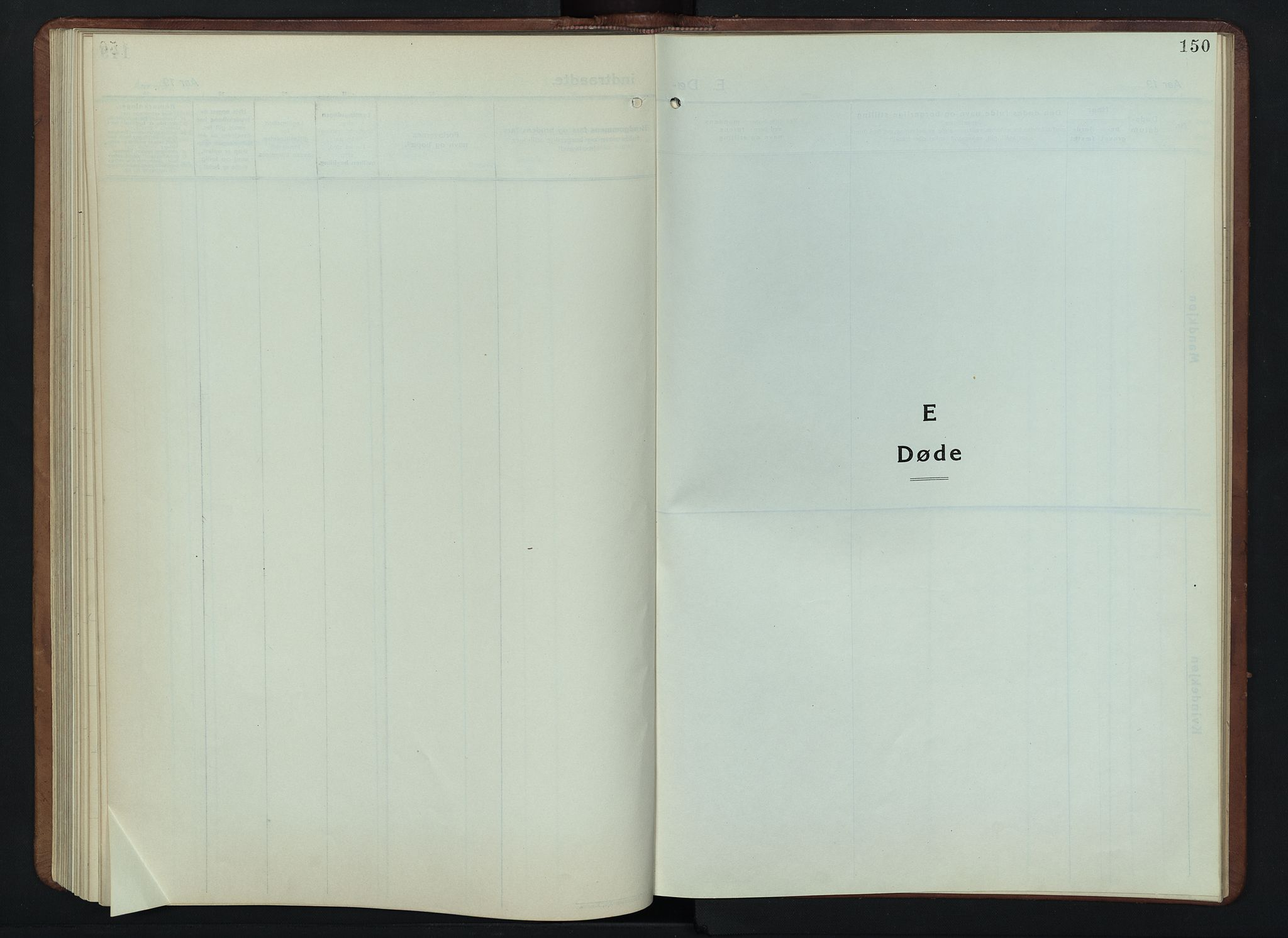 SAH, Lesja prestekontor, Parish register (copy) no. 9, 1924-1947, p. 150
