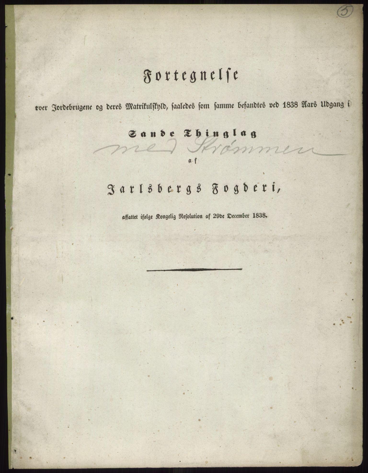 PUBL, Andre publikasjoner, -/Bind 6: Jarlsberg og Larvik amt, 1838, p. 8