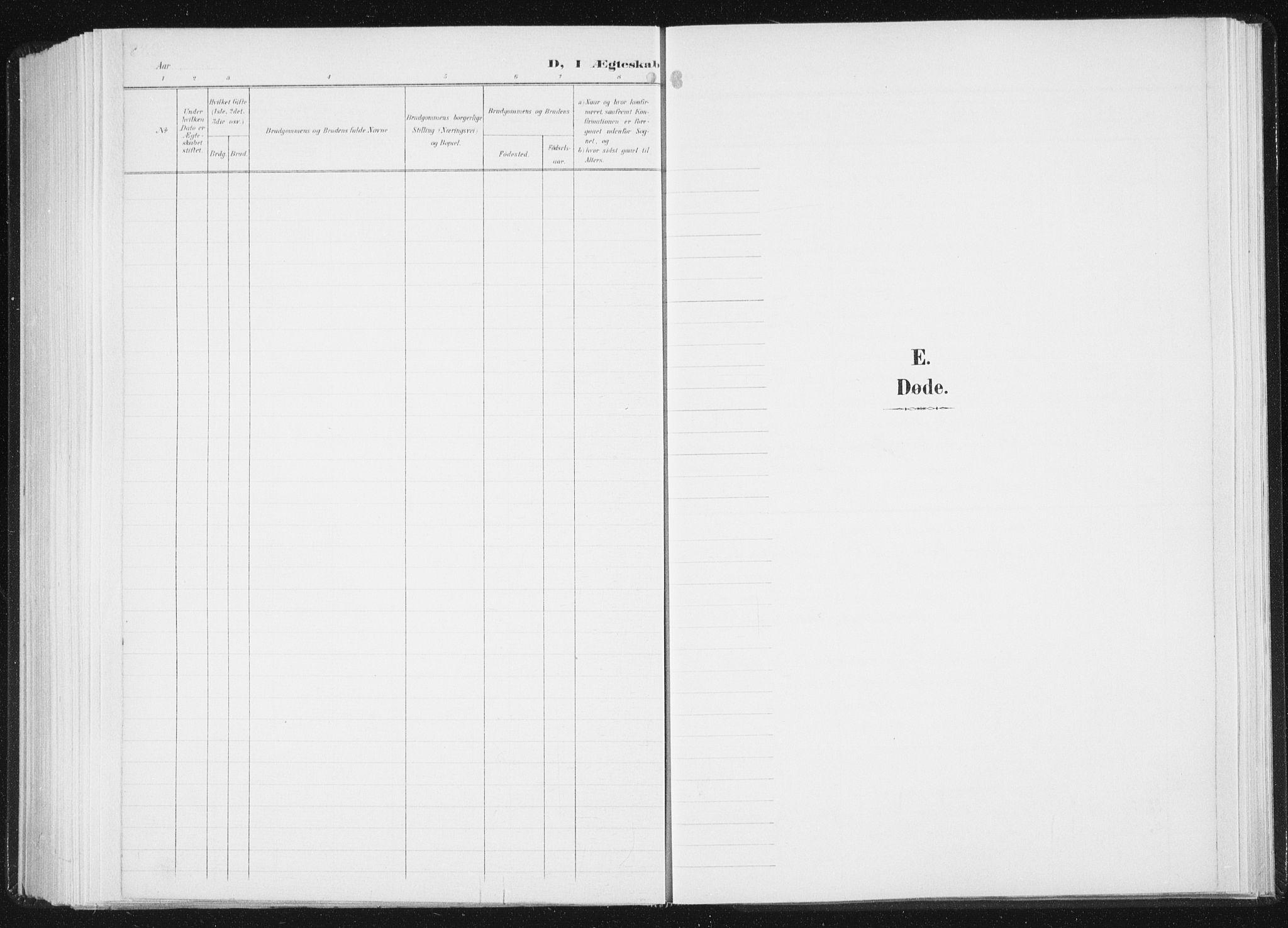 SAT, Ministerialprotokoller, klokkerbøker og fødselsregistre - Sør-Trøndelag, 647/L0635: Parish register (official) no. 647A02, 1896-1911