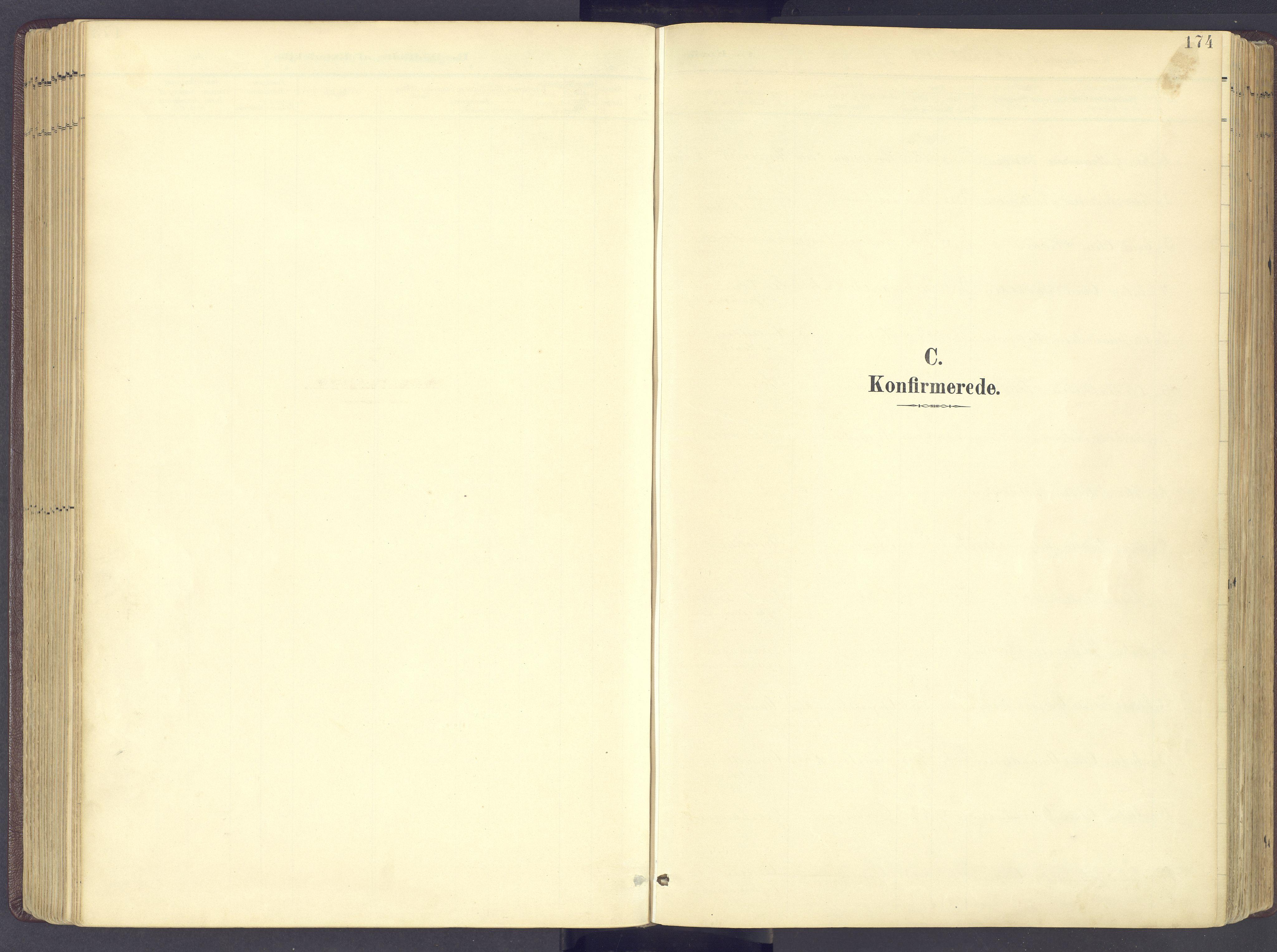 SAH, Sør-Fron prestekontor, H/Ha/Haa/L0004: Parish register (official) no. 4, 1898-1919, p. 174