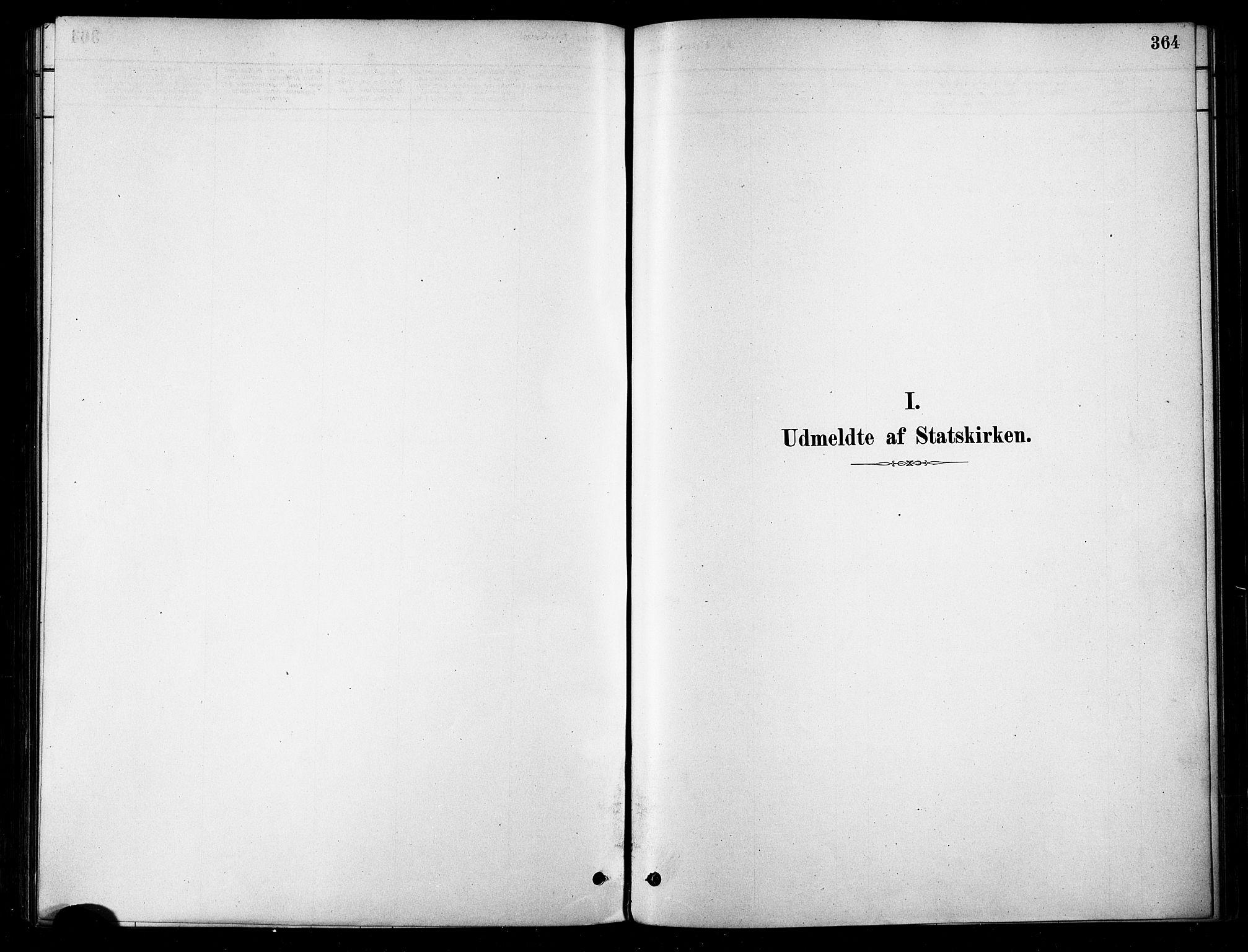 SATØ, Karlsøy sokneprestembete, H/Ha/Haa/L0006kirke: Parish register (official) no. 6, 1879-1890, p. 364