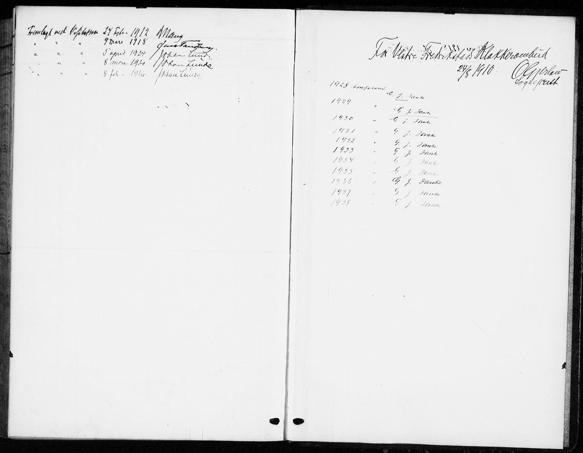 SAO, Fredrikstad domkirkes prestekontor Kirkebøker, G/Ga/L0004: Parish register (copy) no. 4, 1910-1944