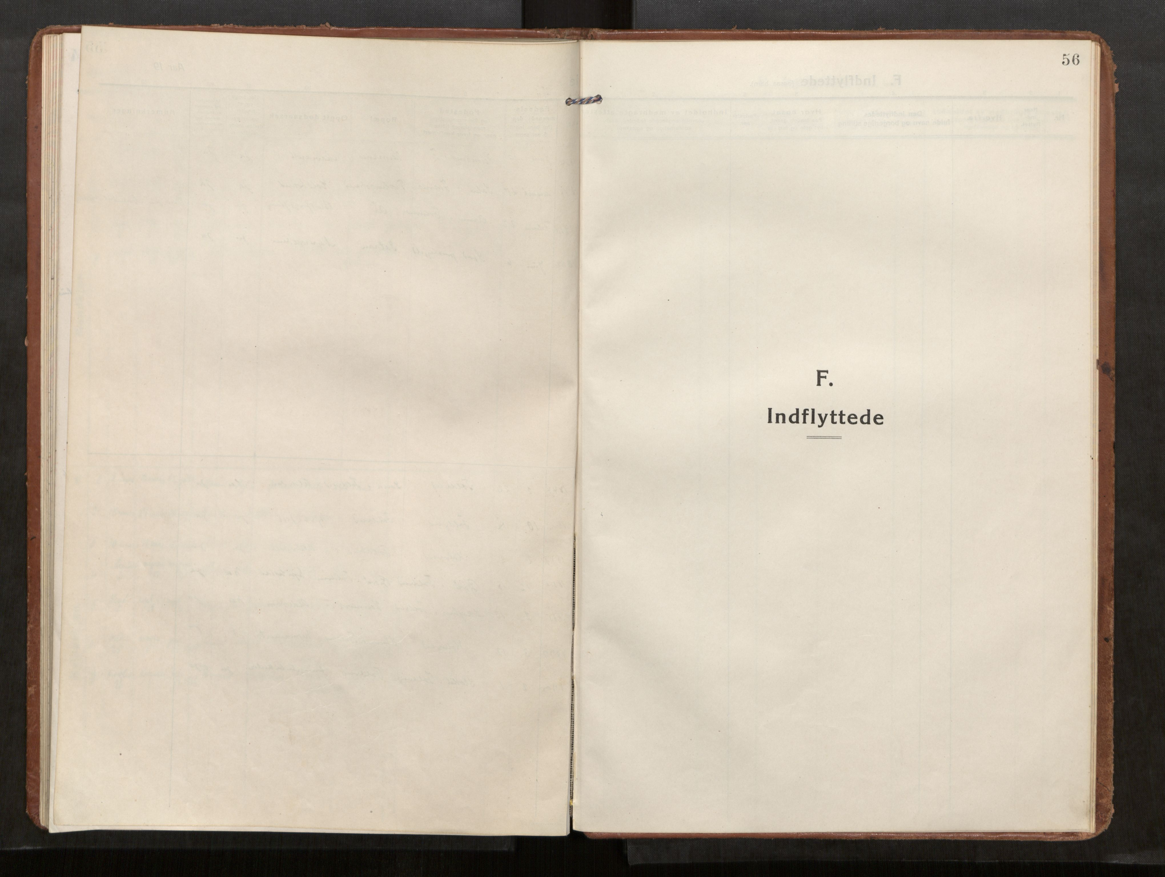 SAT, Kolvereid sokneprestkontor, H/Ha/Haa/L0002: Parish register (official) no. 2, 1914-1926, p. 56