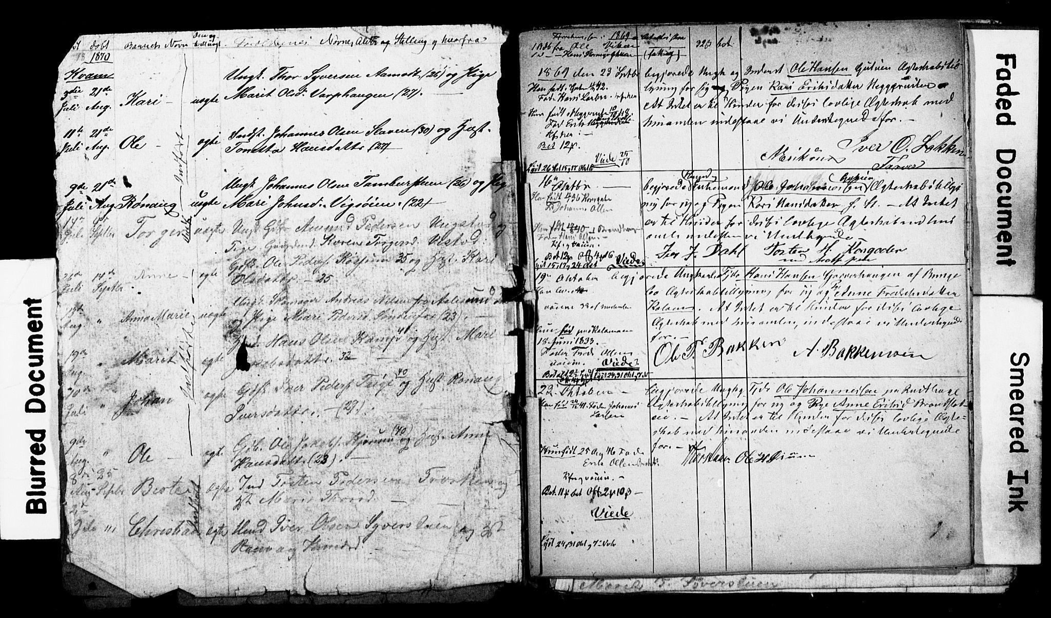 SAH, Nord-Fron prestekontor, Parish register draft no. -, 1865-1872