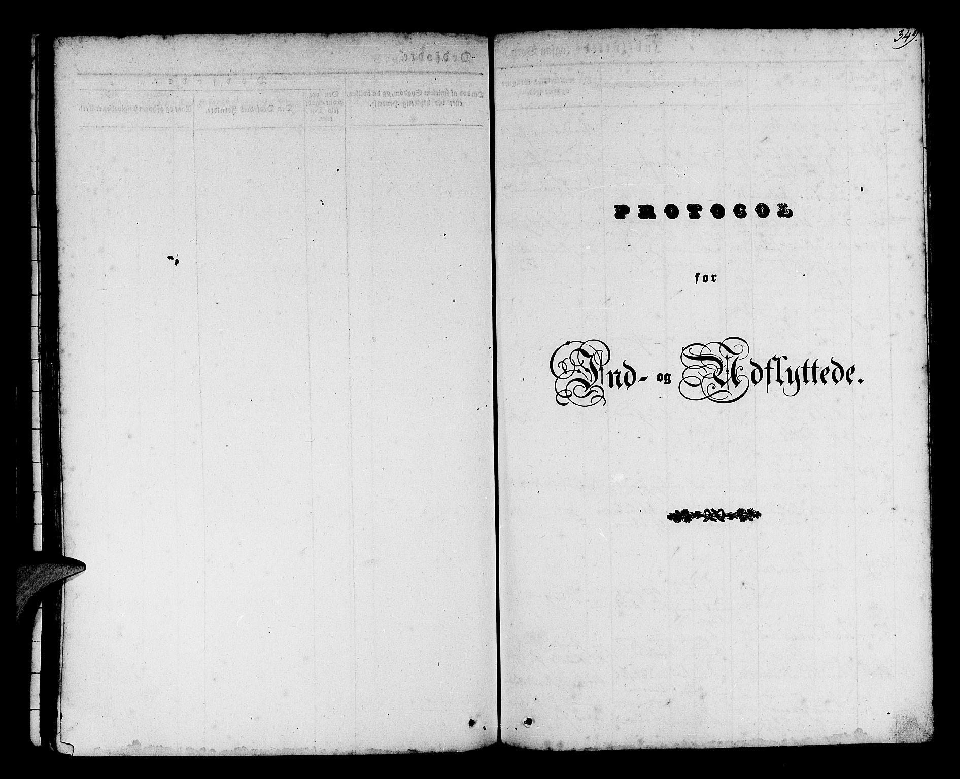 SAB, Os sokneprestembete*, Parish register (official) no. A 15, 1839-1851, p. 349