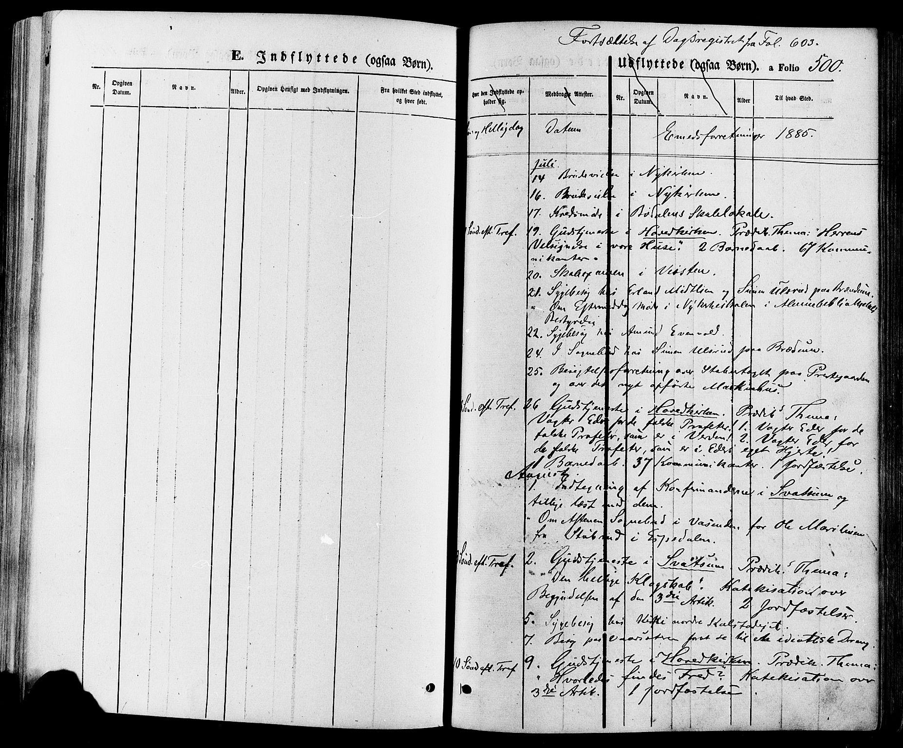 SAH, Gausdal prestekontor, Parish register (official) no. 10, 1867-1886, p. 500