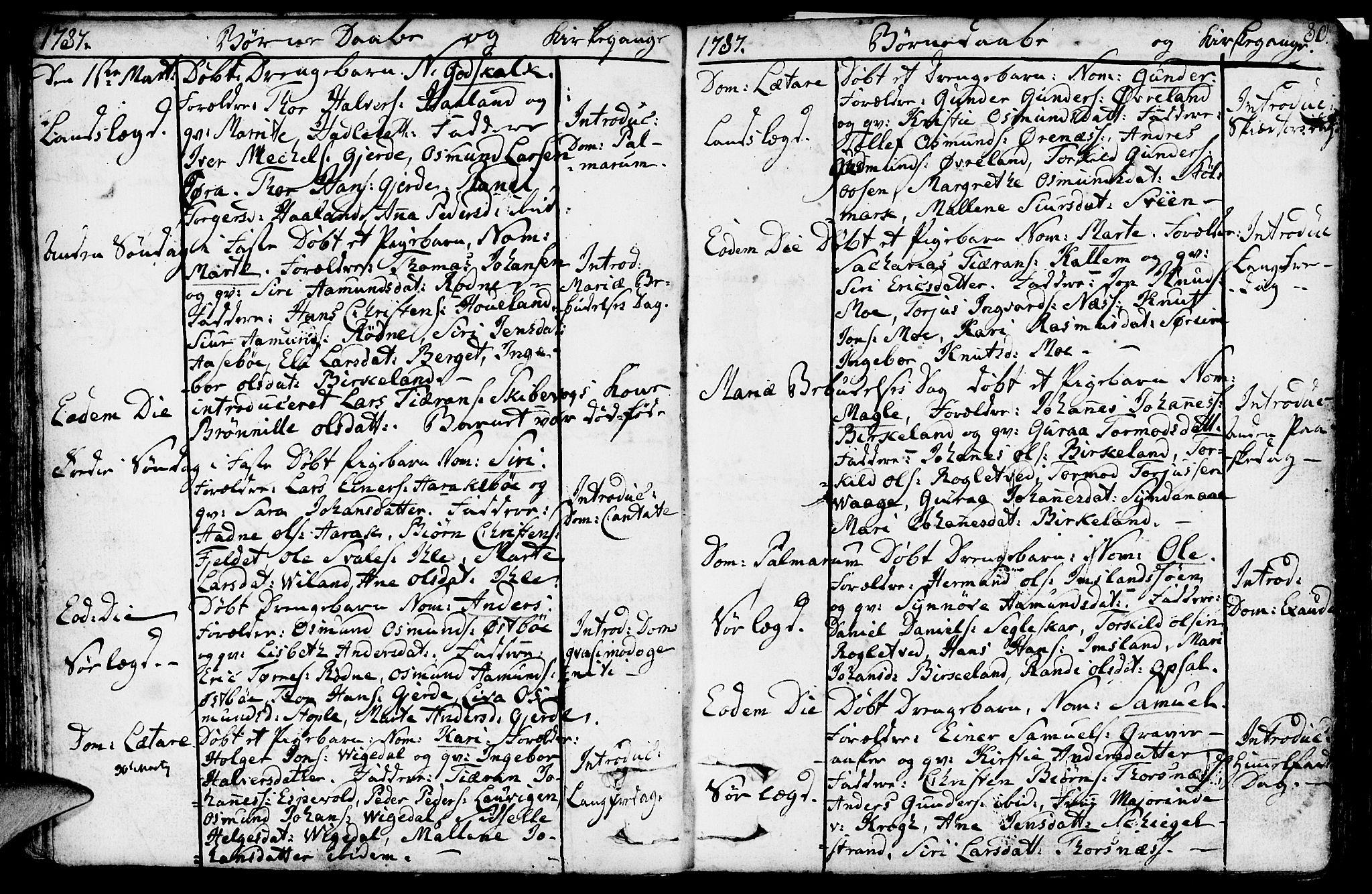 SAST, Vikedal sokneprestkontor, IV: Parish register (official) no. A 2, 1779-1817, p. 80