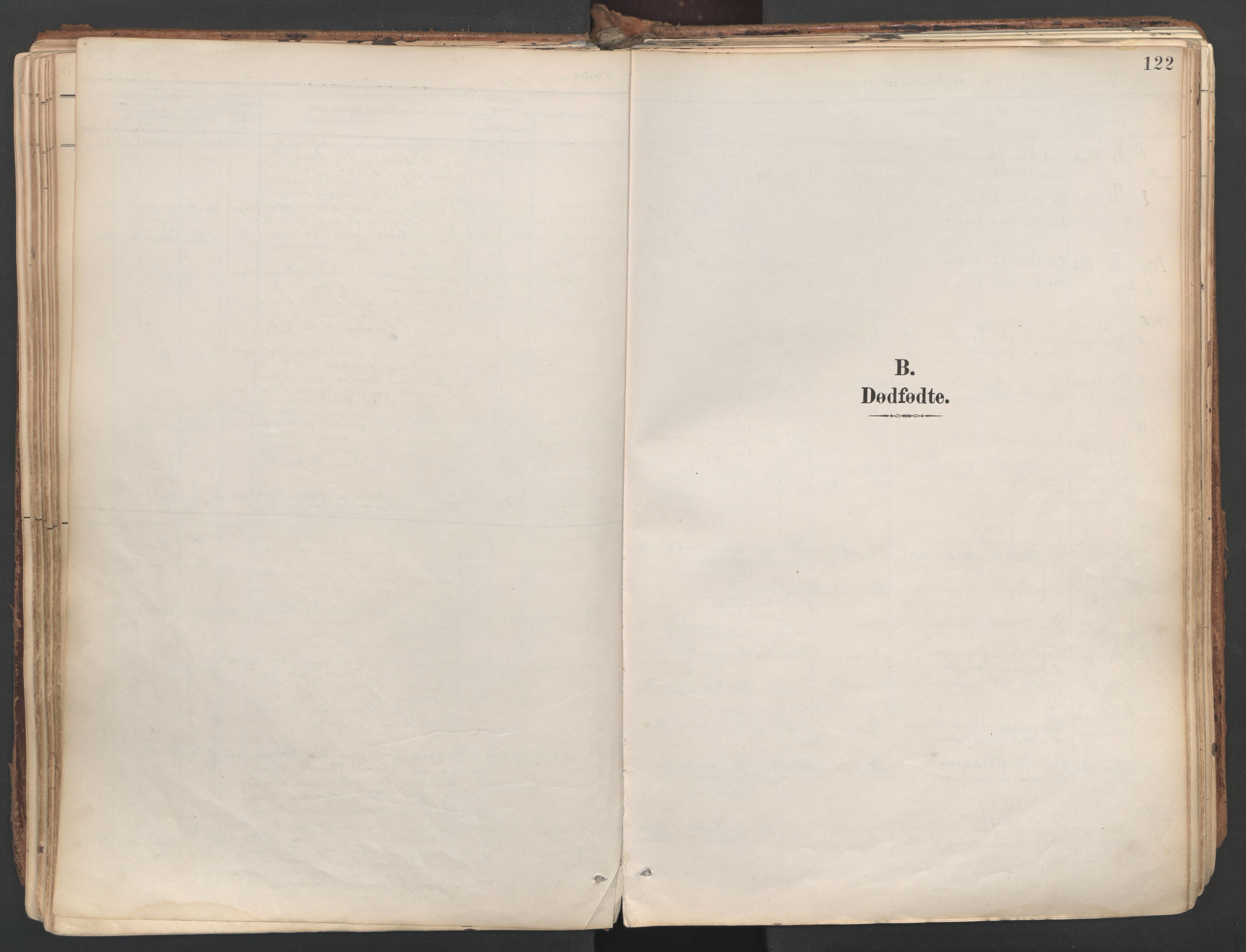 SAT, Ministerialprotokoller, klokkerbøker og fødselsregistre - Sør-Trøndelag, 687/L1004: Parish register (official) no. 687A10, 1891-1923, p. 122