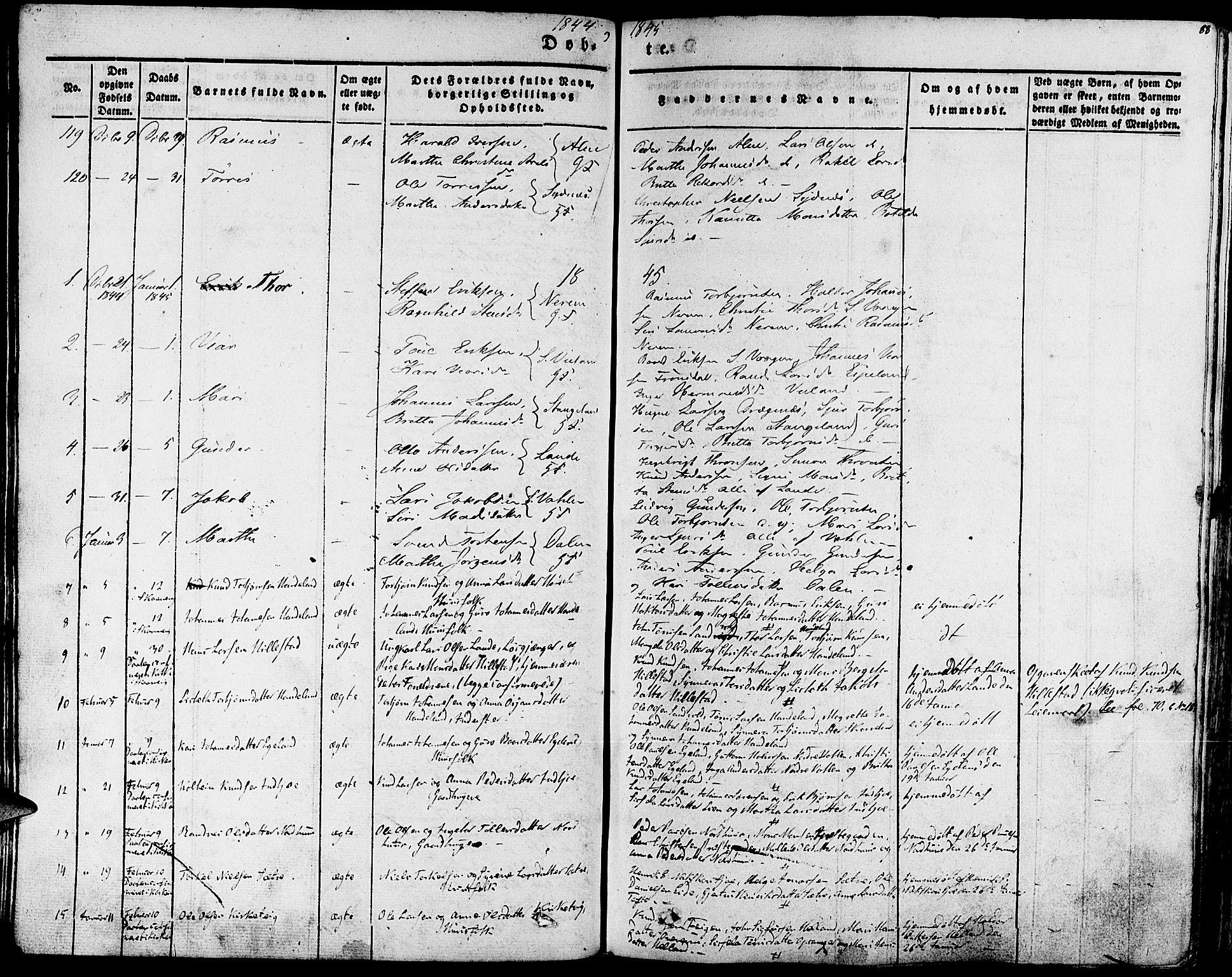 SAB, Fjelberg Sokneprestembete, H/Haa: Parish register (official) no. A 6, 1835-1851, p. 88