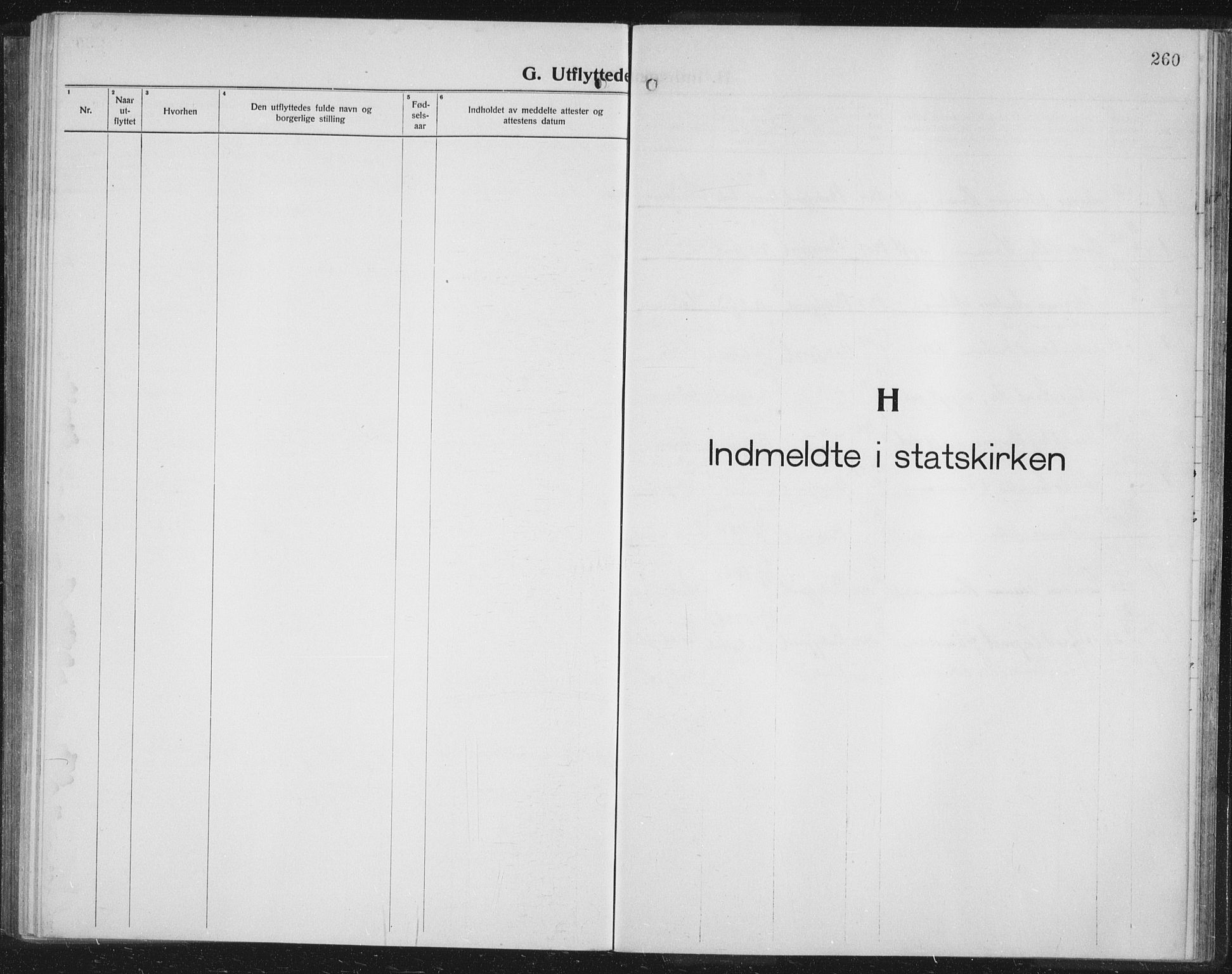 SATØ, Balsfjord sokneprestembete, Parish register (copy) no. 10, 1921-1936, p. 260