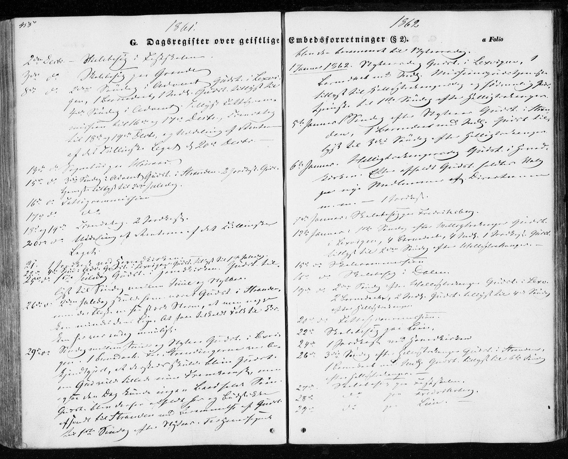 SAT, Ministerialprotokoller, klokkerbøker og fødselsregistre - Nord-Trøndelag, 701/L0008: Parish register (official) no. 701A08 /1, 1854-1863, p. 455